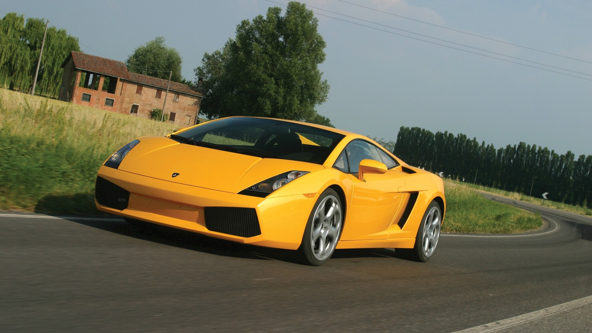 2003 Lamborghini Gallardo Backgrounds
