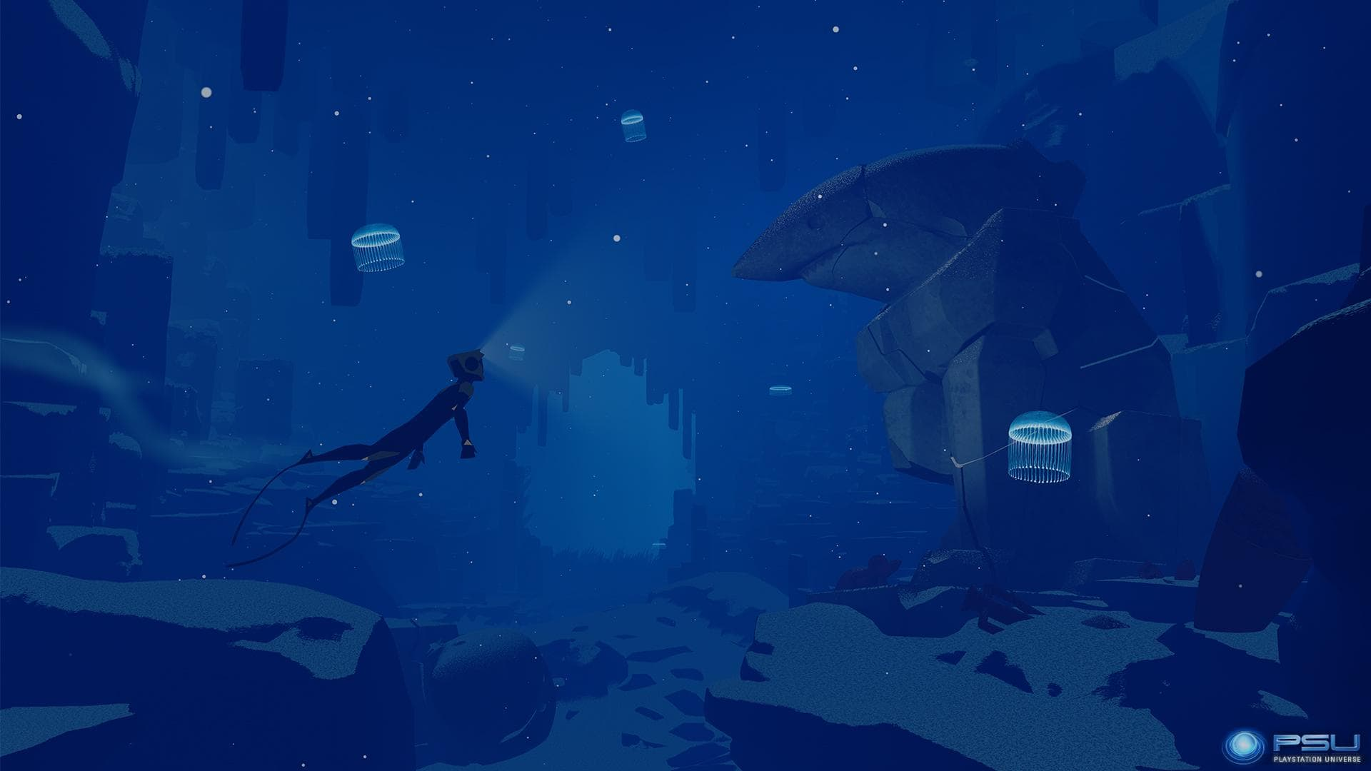ABZÛ Backgrounds