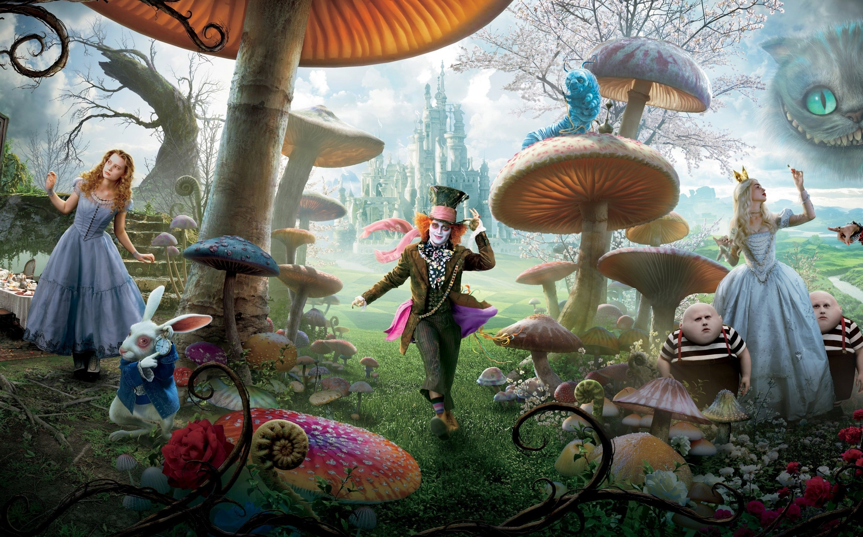 Alice Through the Looking Glass Backgrounds