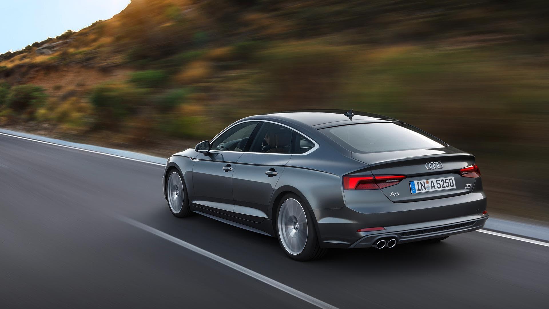 Audi A5 Sportback II Backgrounds