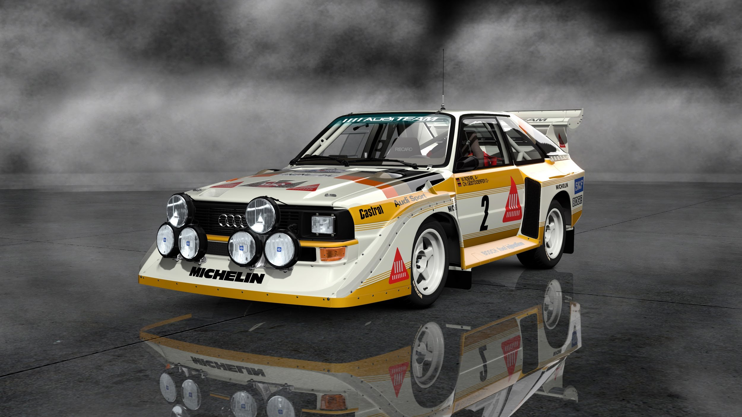 Audi Sport Quattro S1 Backgrounds