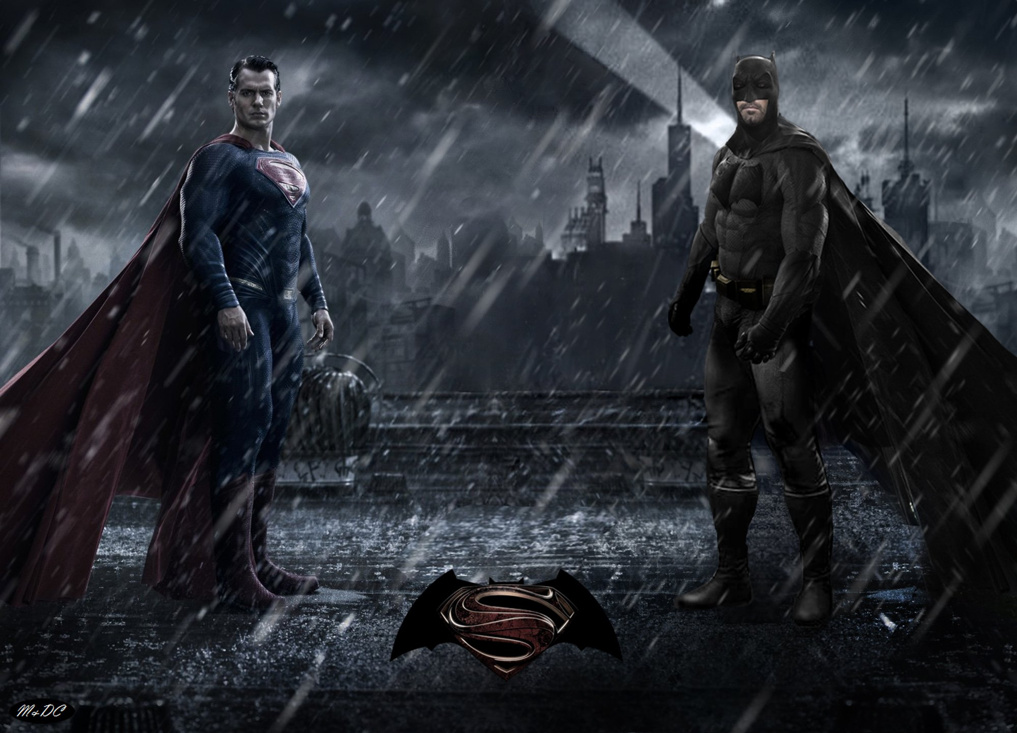 Batman Vs Superman: Dawn Of Justice desktop wallpaper