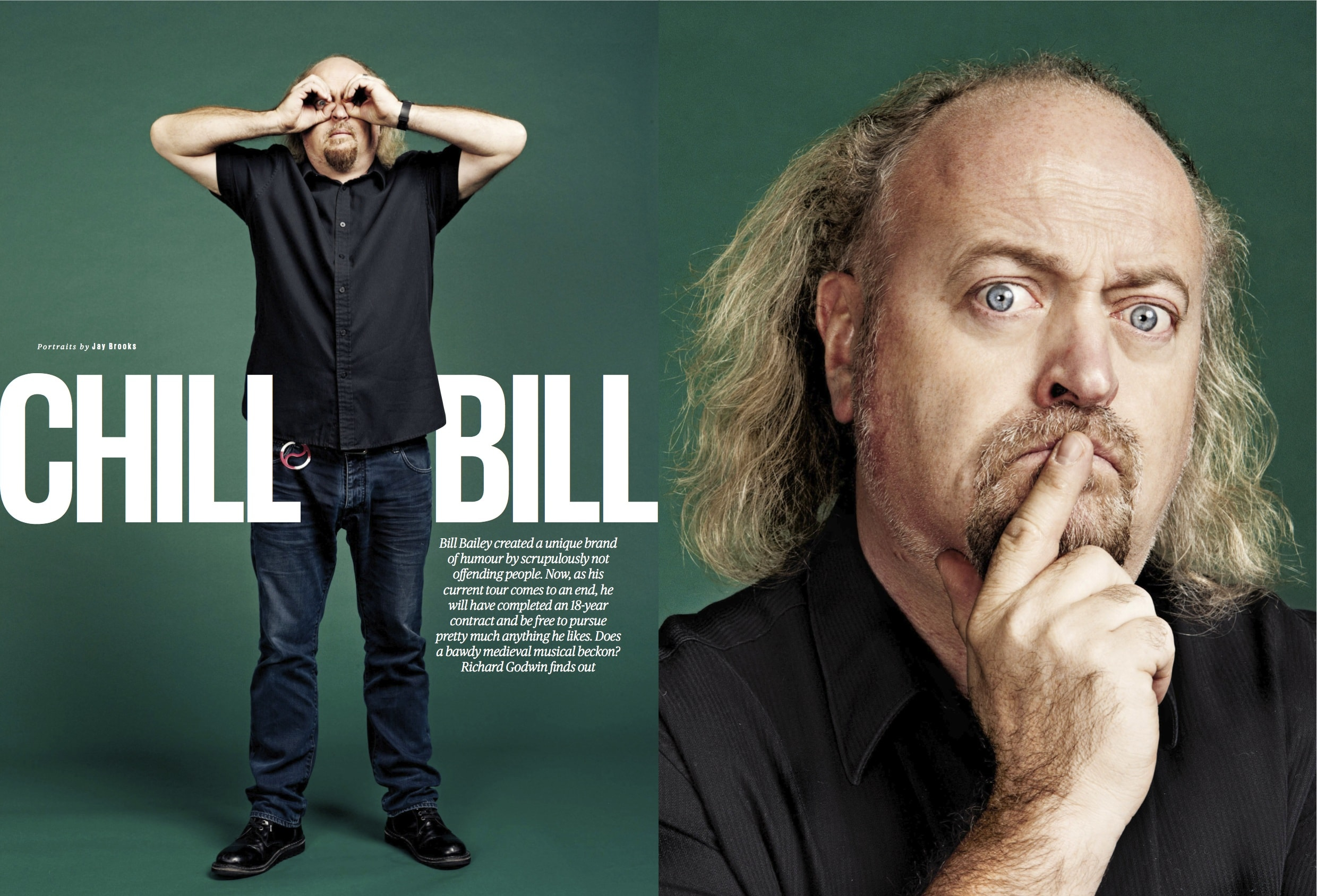 Bill Bailey Backgrounds