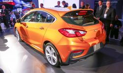 Chevrolet Cruze 2 Hatchback Backgrounds