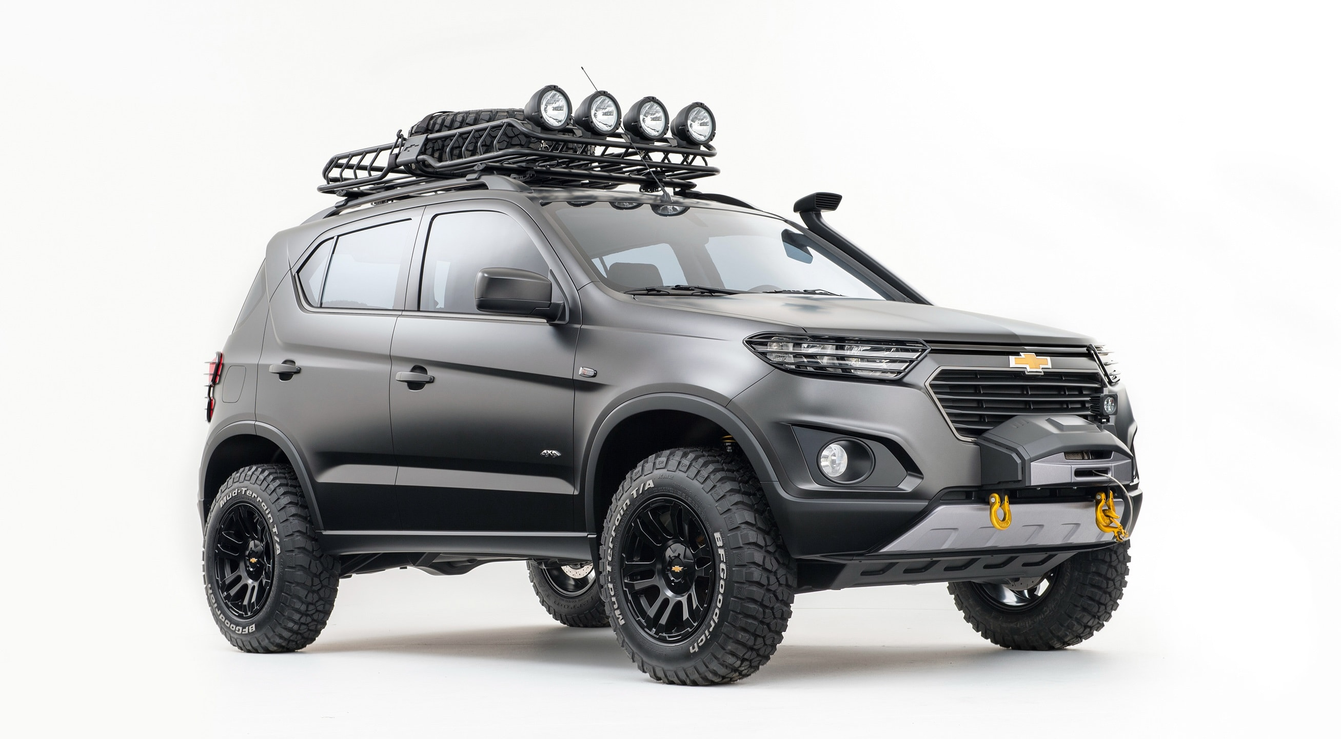 Chevrolet Niva 2 Backgrounds