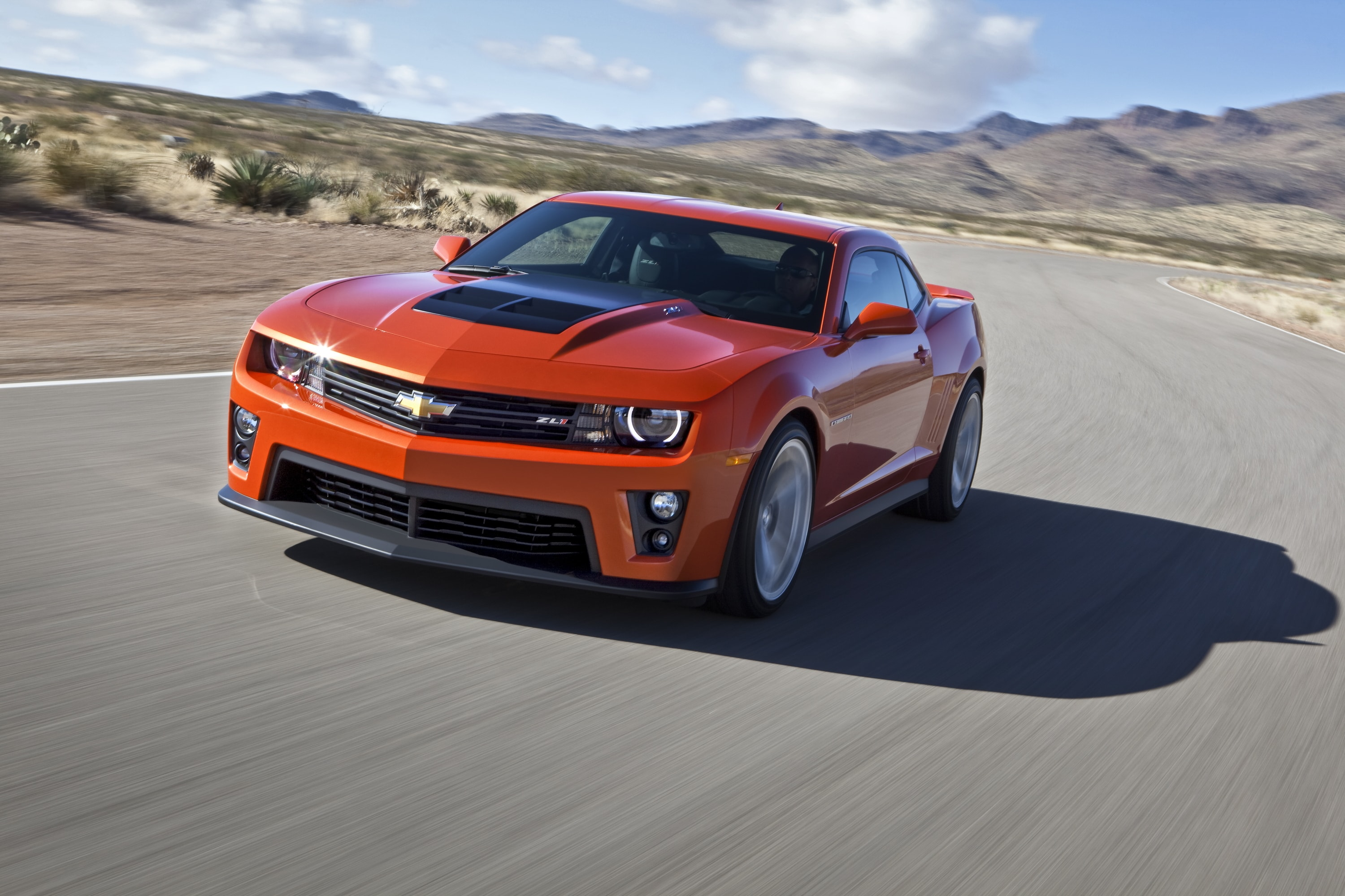 Chevy Camaro ZL1 Backgrounds