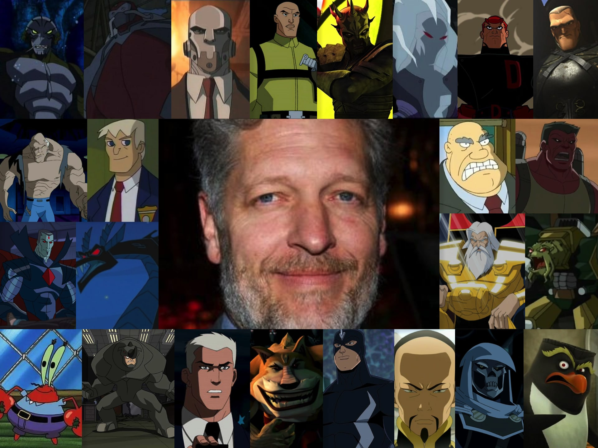 Clancy Brown Background