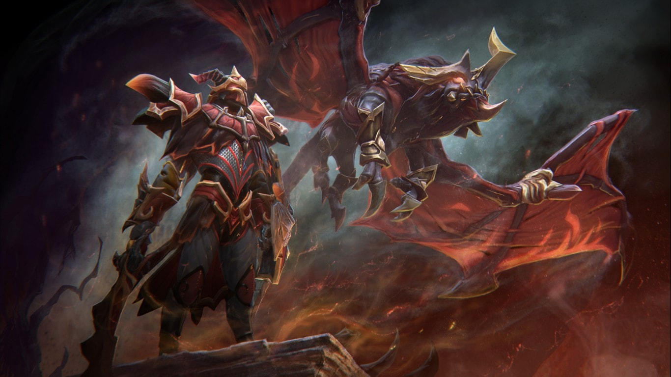 Dota2 : Dragon Knight HD pics