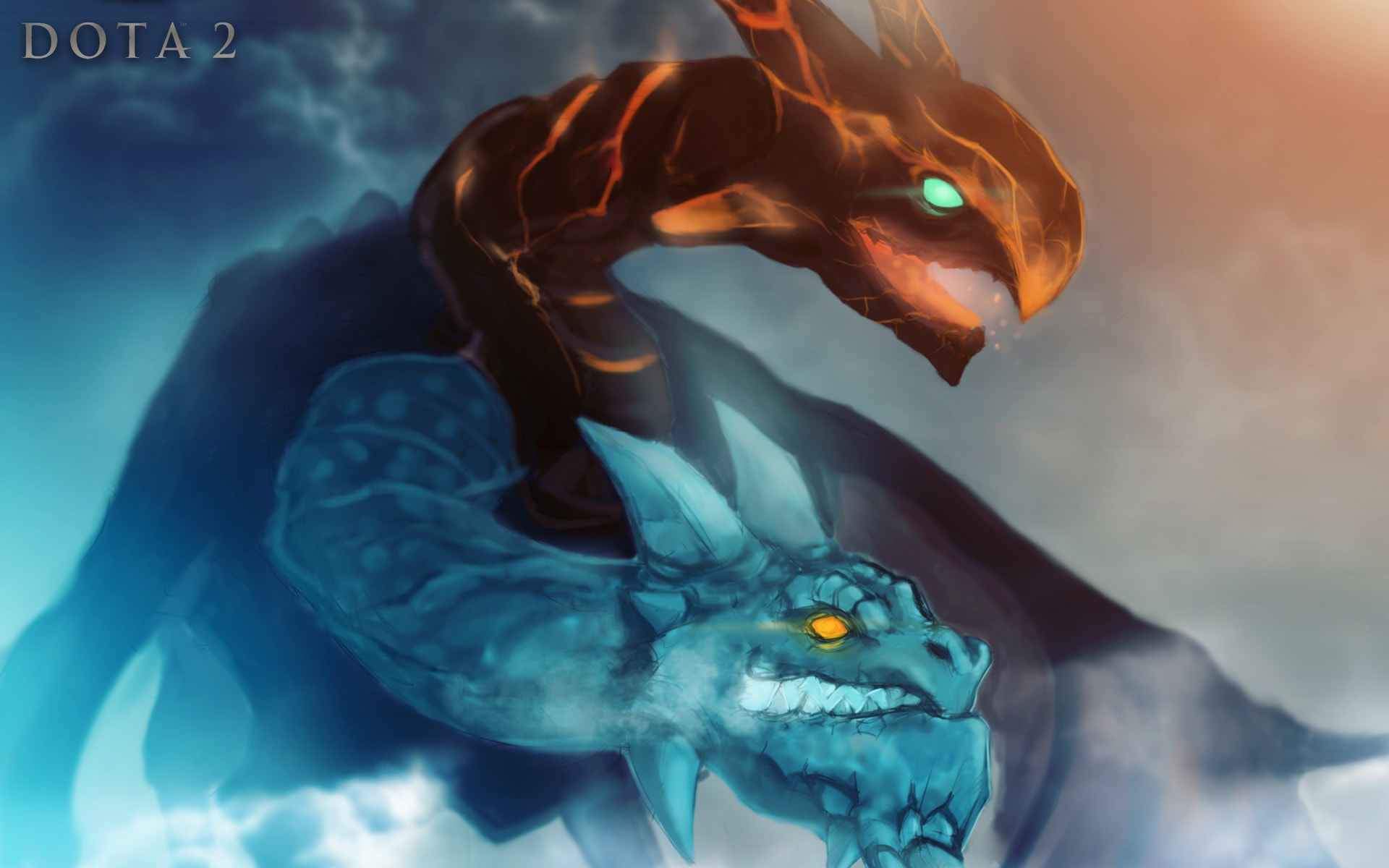 Dota2 : Jakiro Wallpaper