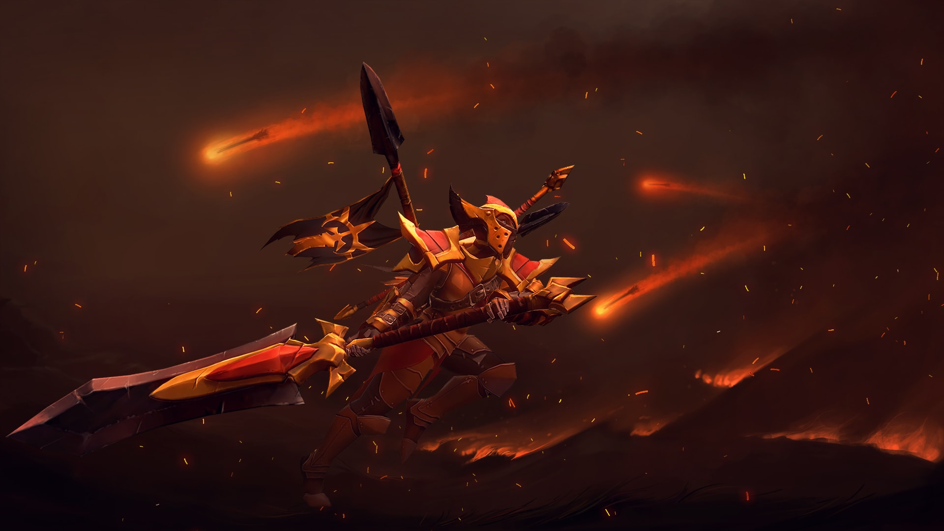 Dota2 : Legion Commander Backgrounds