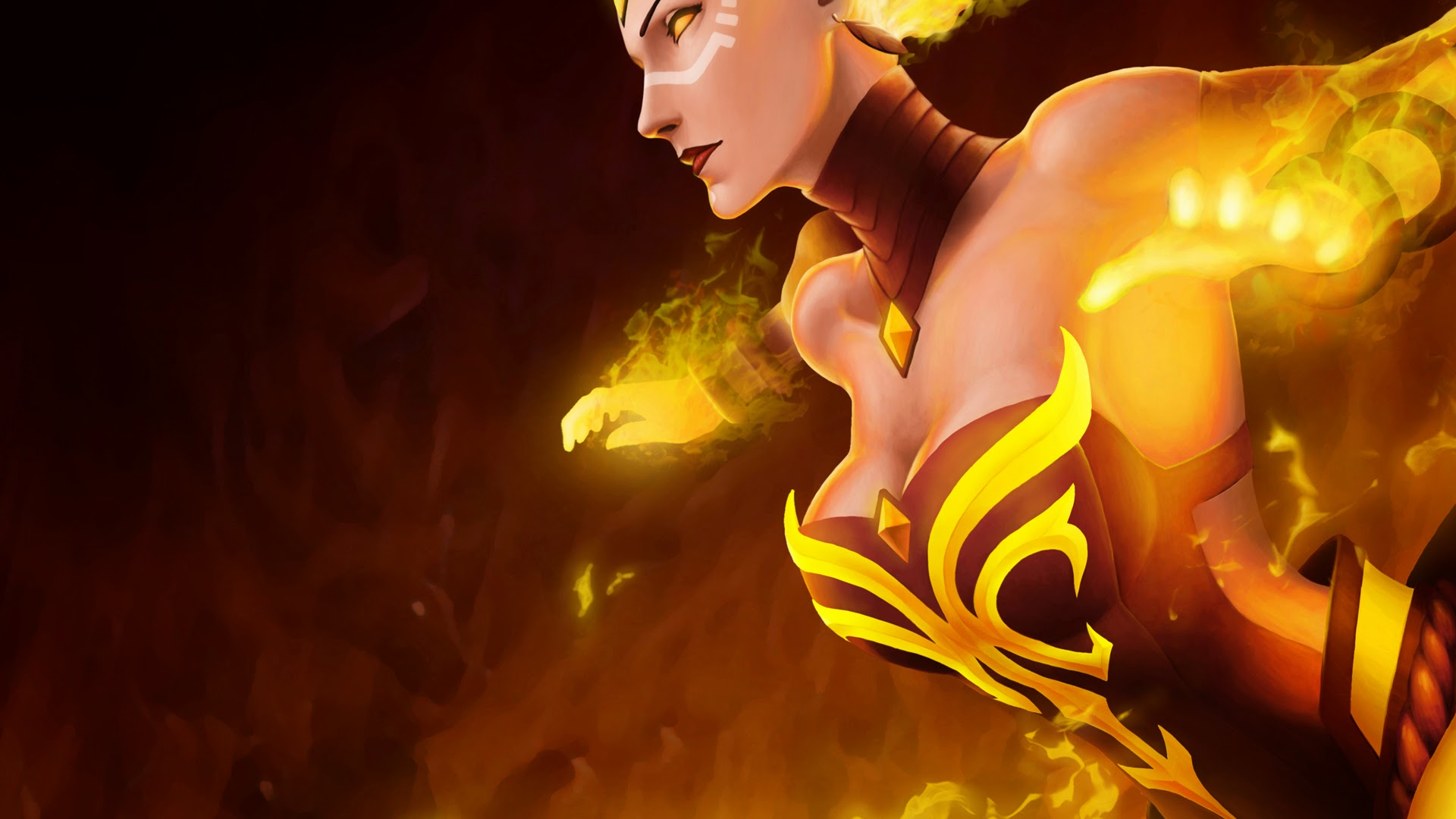 Dota2 : Lina Backgrounds