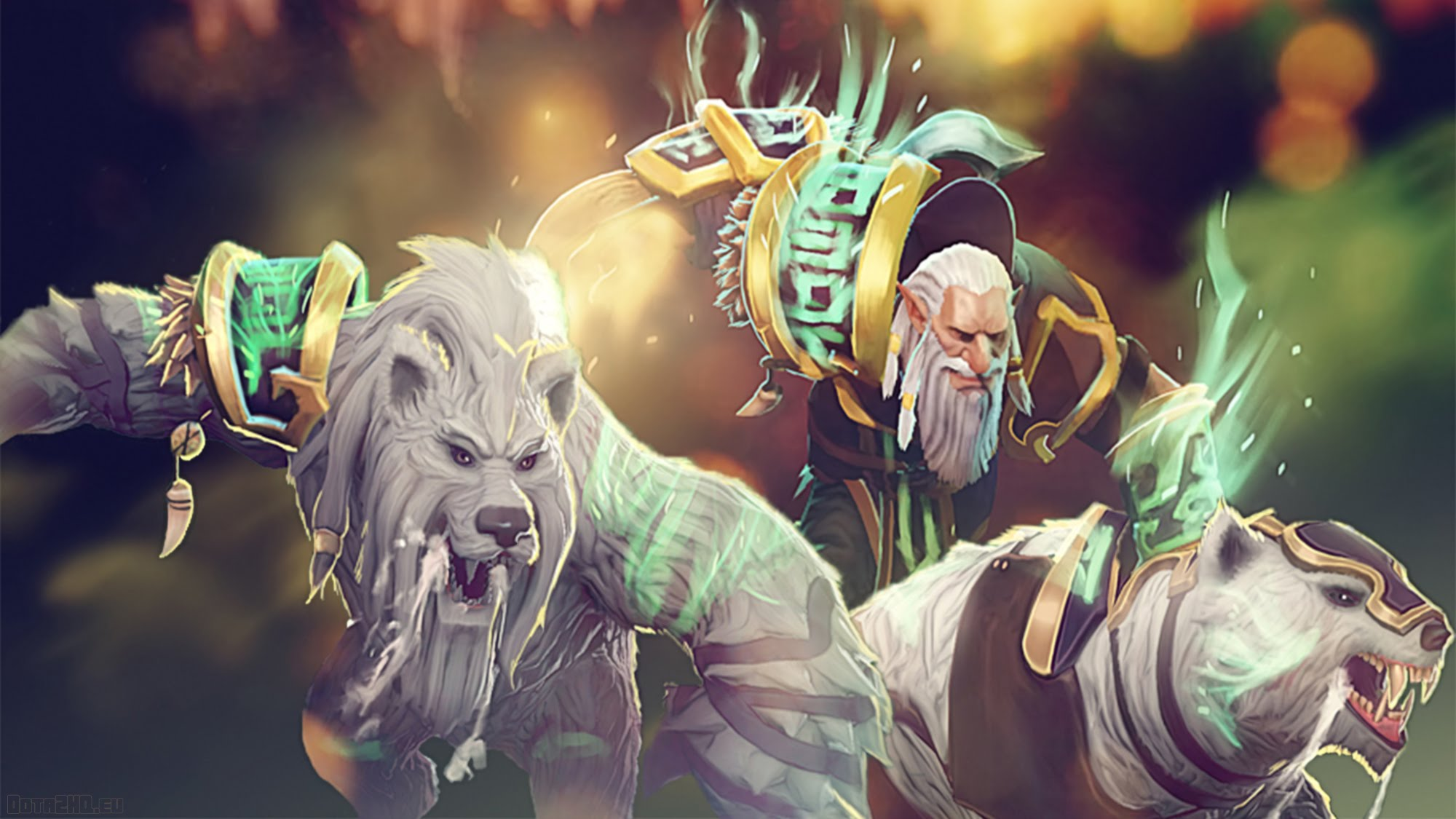 Dota2 : Lone Druid Backgrounds