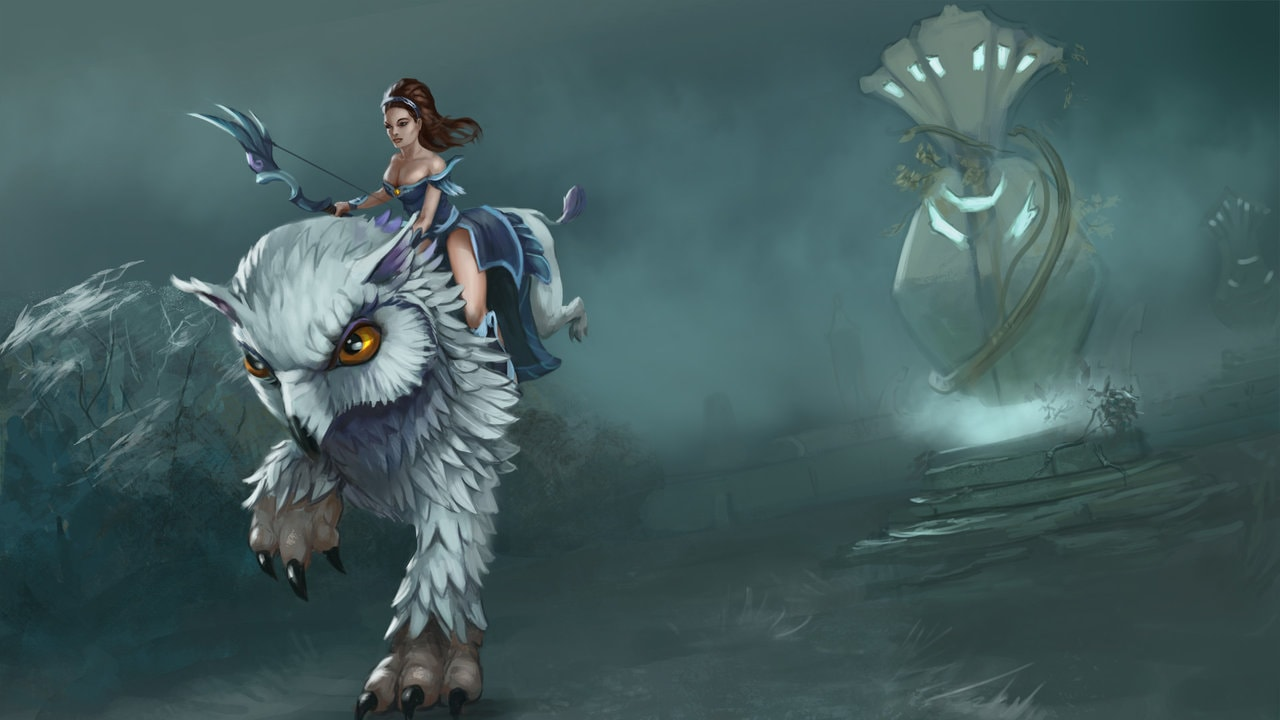 Dota2 : Mirana Backgrounds