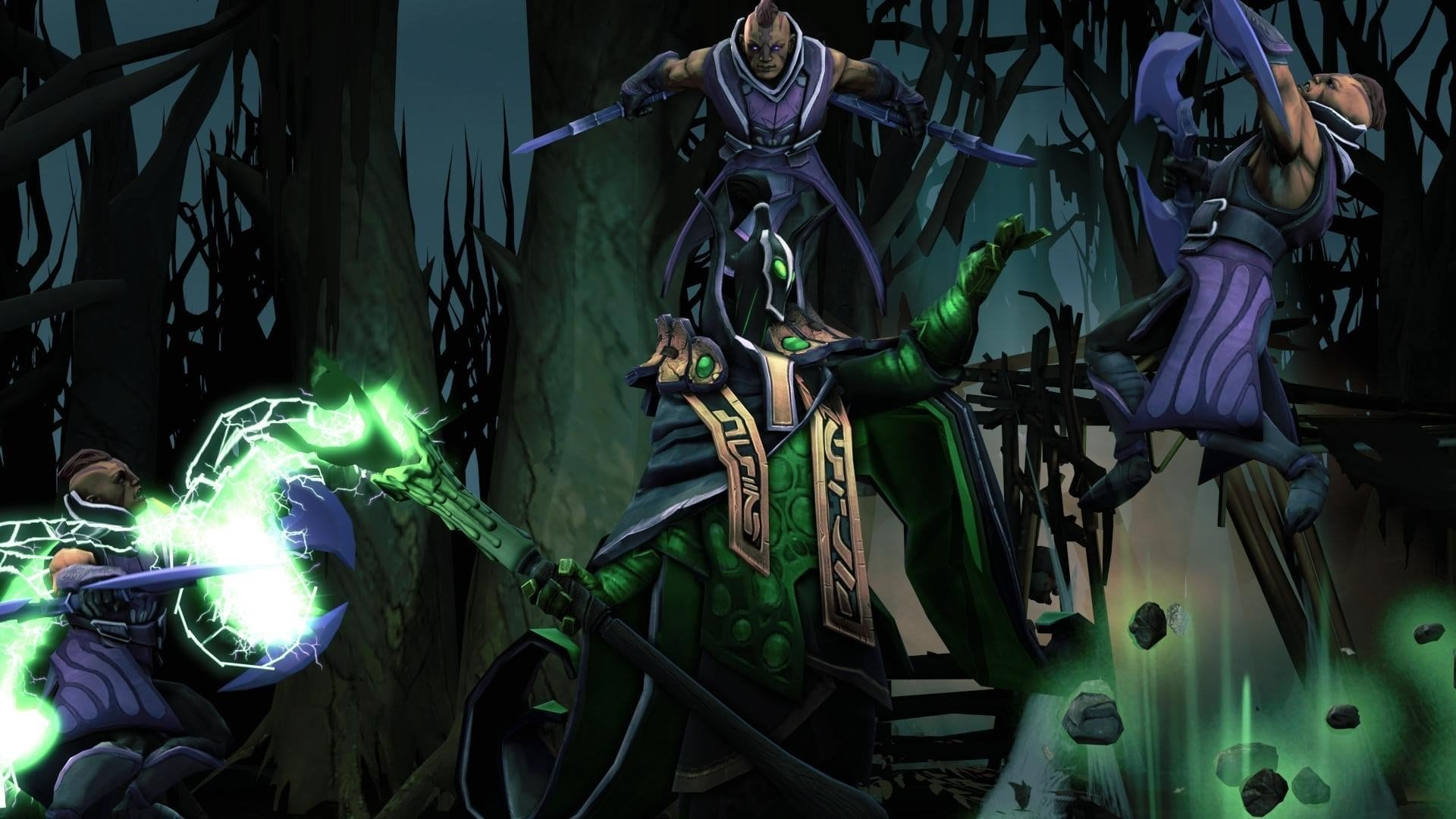 Dota2 : Rubick HD pictures
