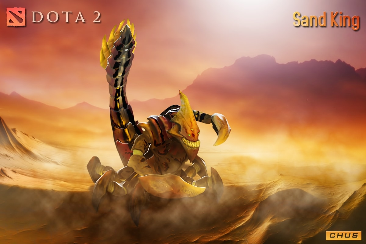 Dota2 : Sand King HD pictures