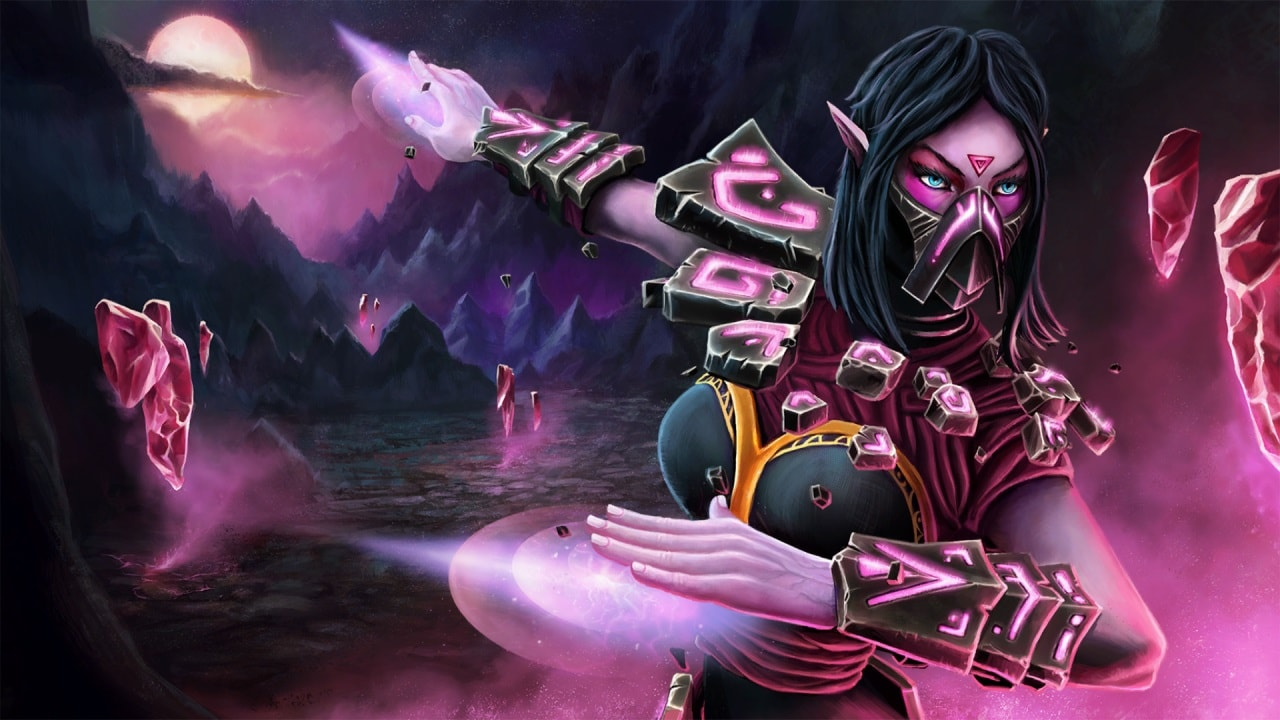 Dota2 : Templar Assassin Backgrounds