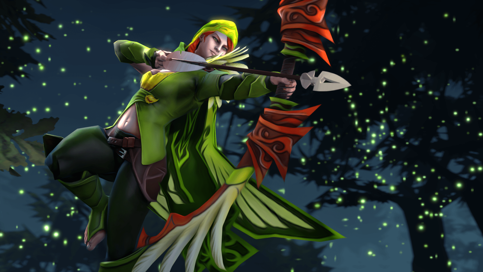 Dota2 : Windranger Backgrounds