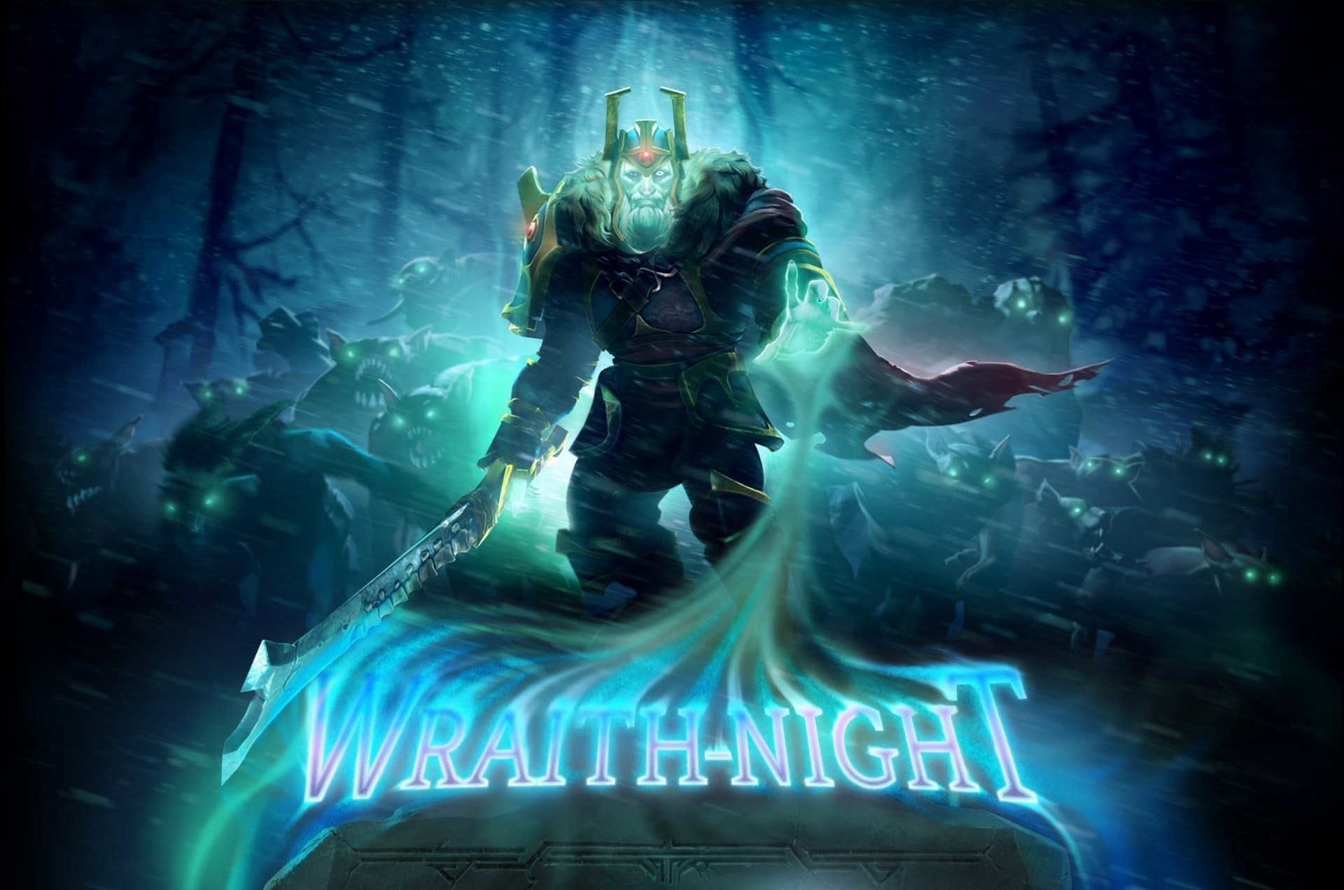 Dota2 : Wraith King Background