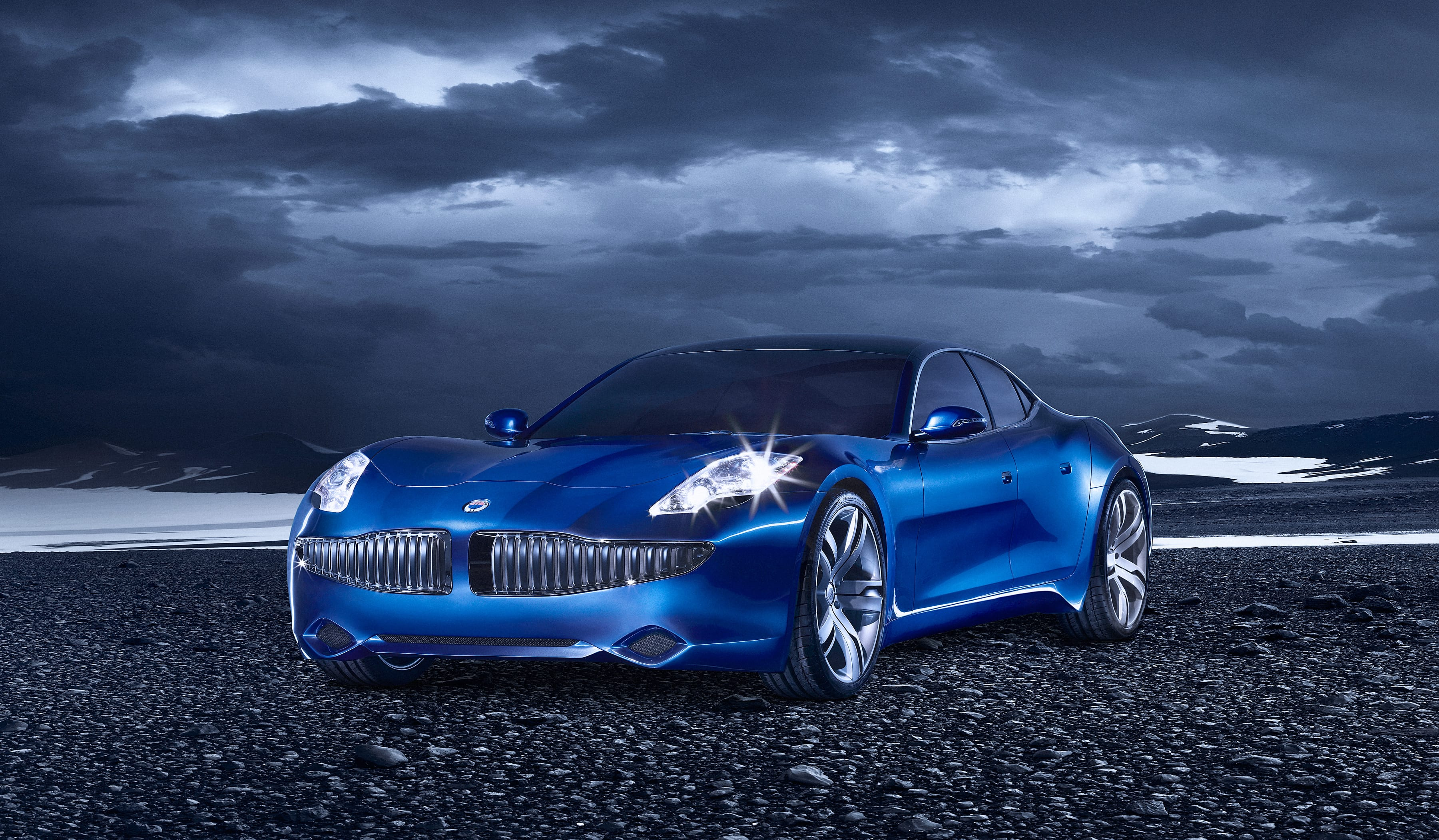 Fisker Karma Backgrounds