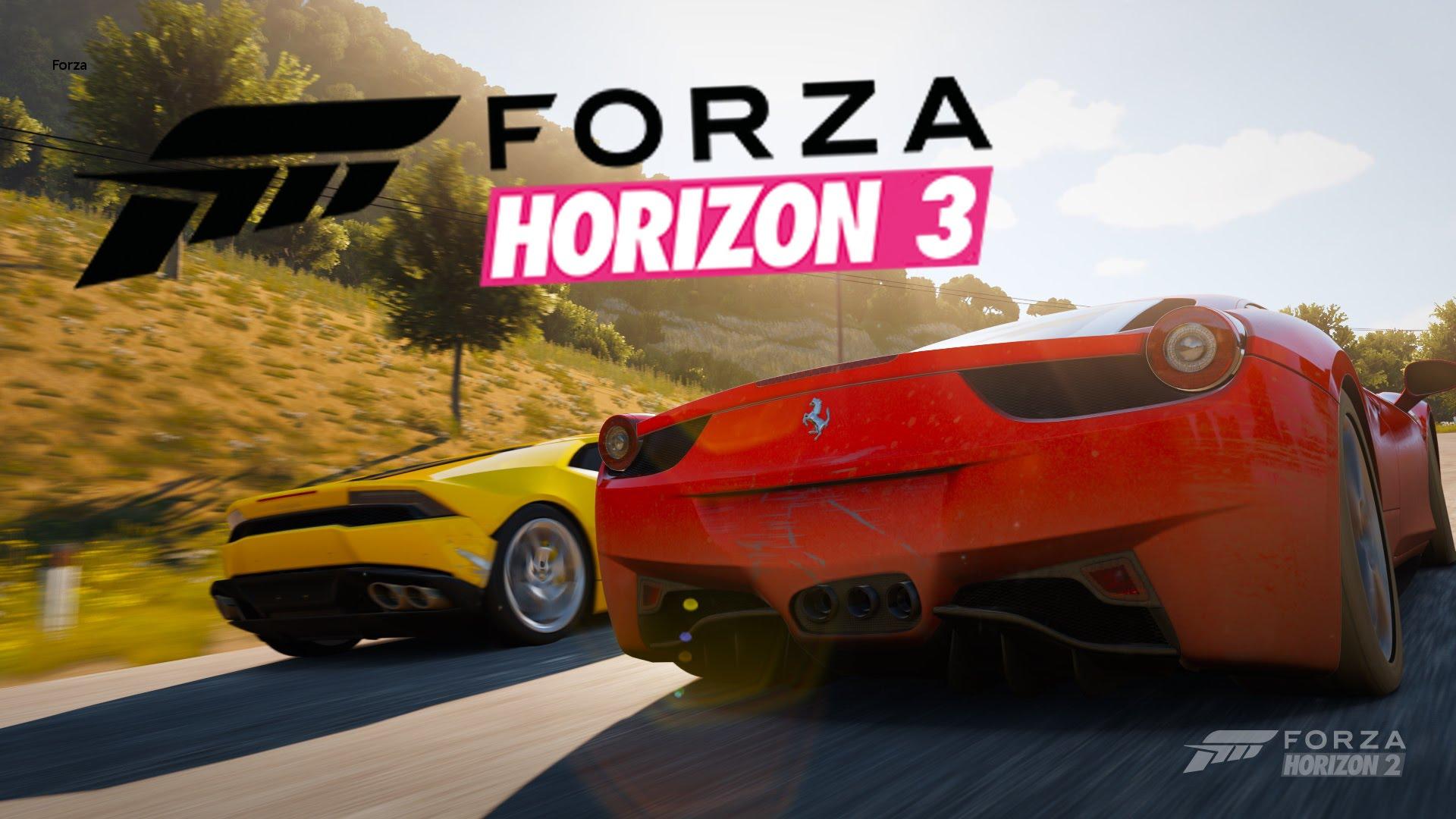 Forza Horizon 3 Backgrounds