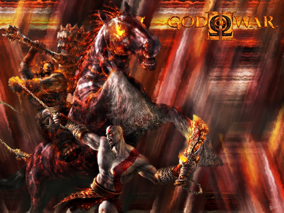God Of War 2 HD pictures