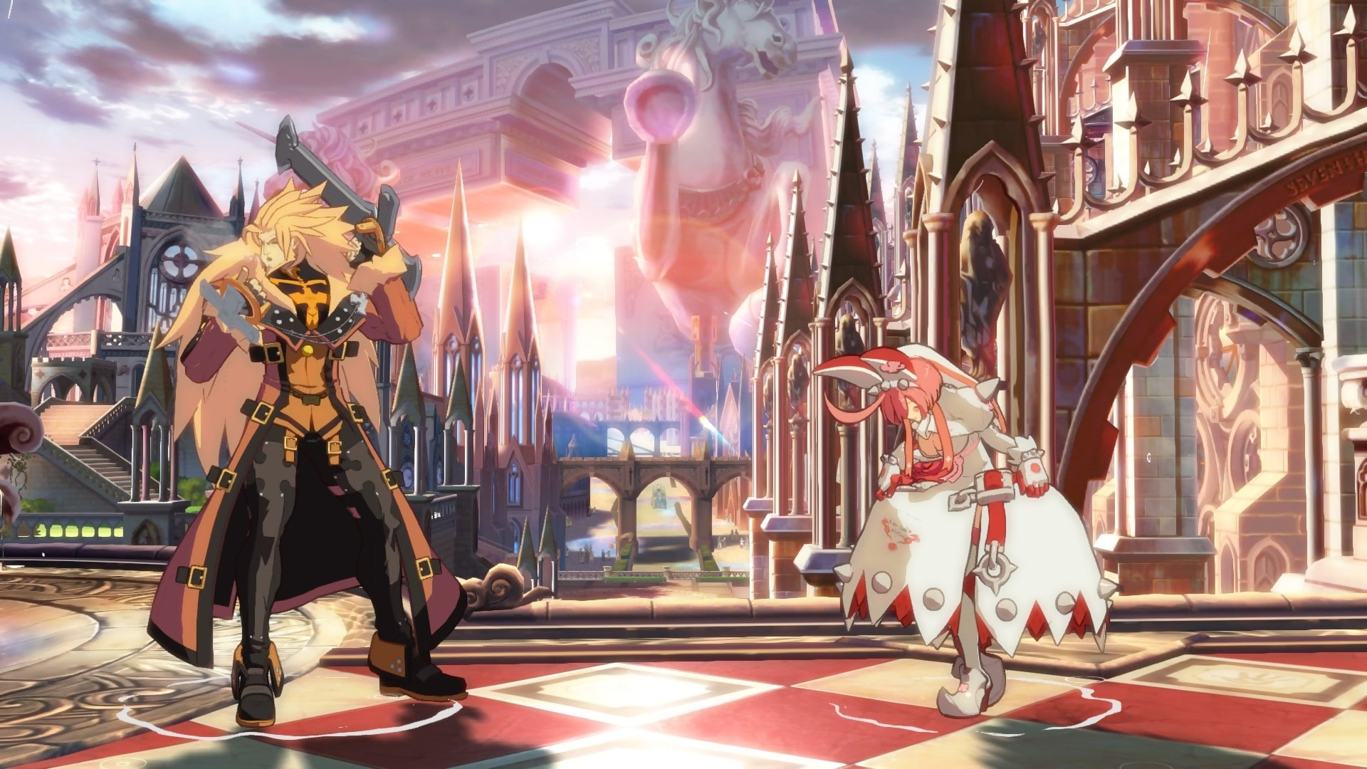 Guilty Gear: Leo Whitefang Backgrounds