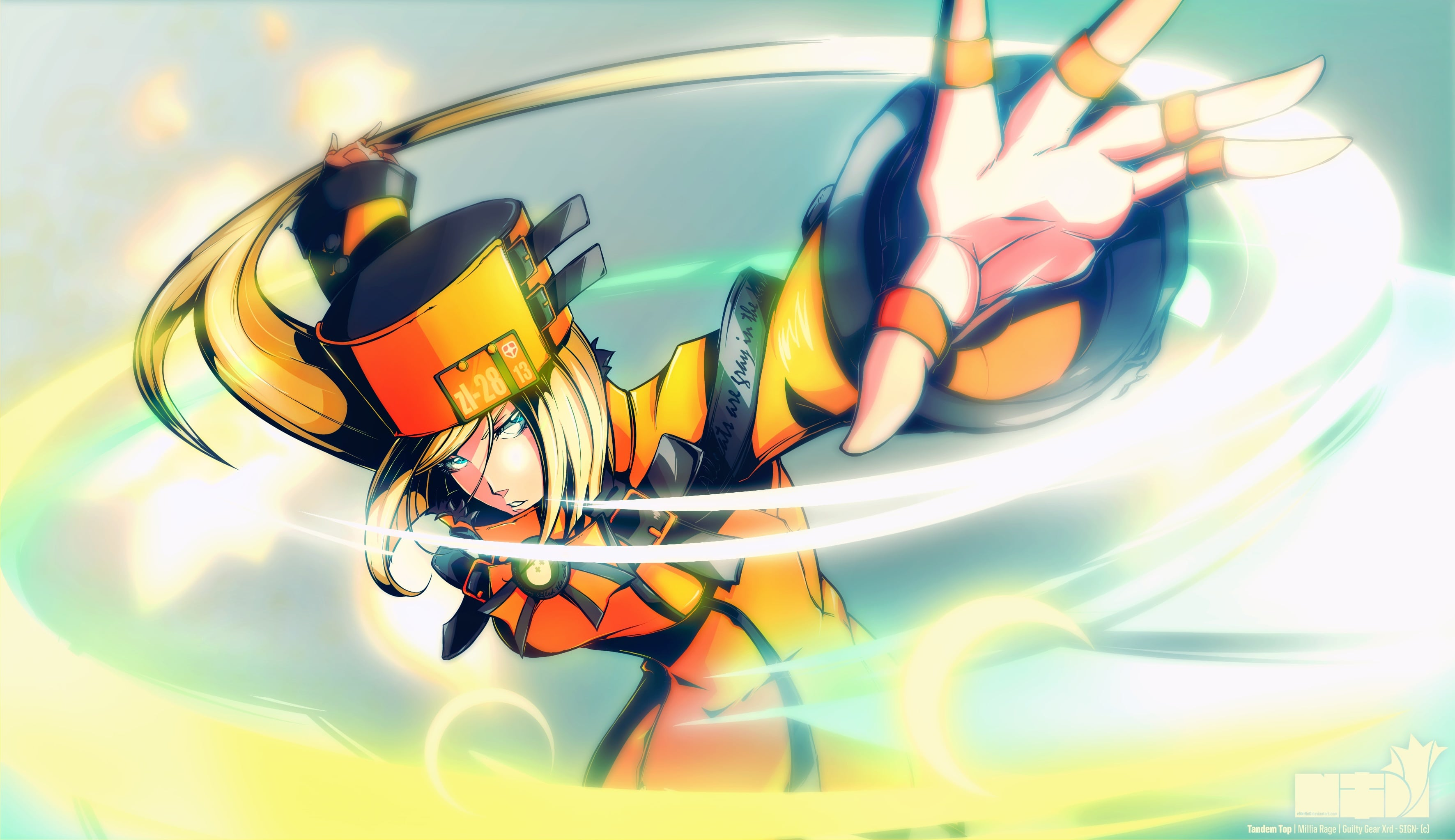 Guilty Gear: Millia Rage Backgrounds