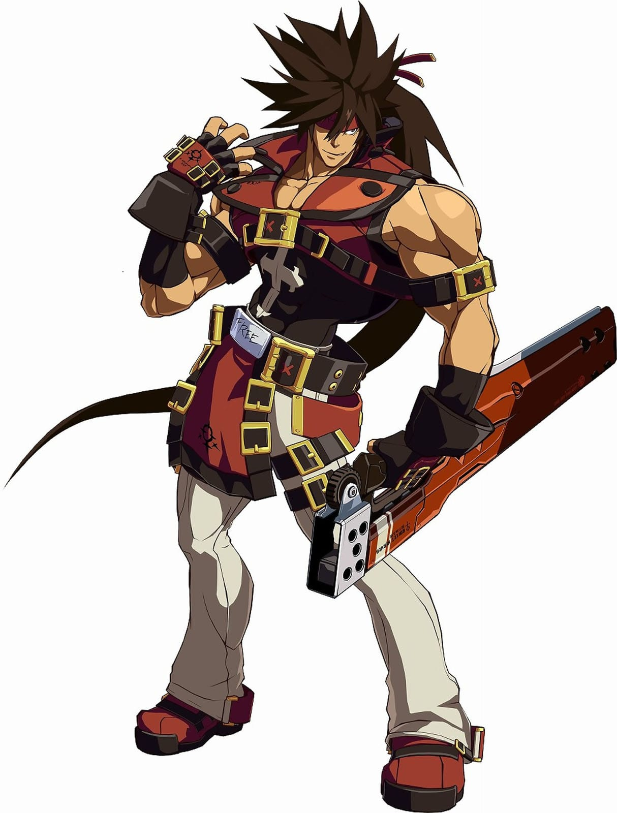 Guilty Gear: Sol Badguy Backgrounds