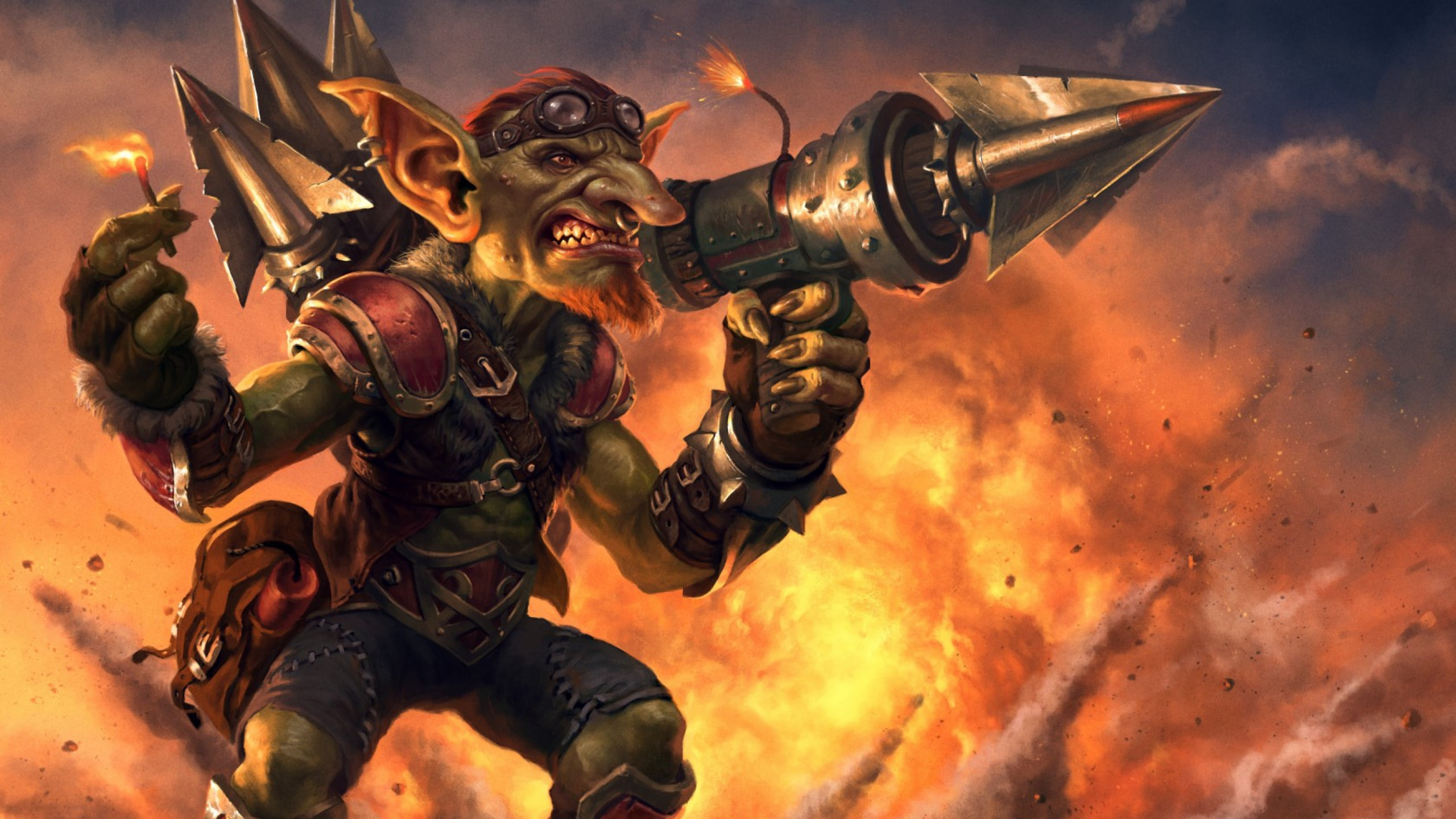 Hearthstone: Goblins Vs. Gnomes Backgrounds
