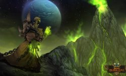 Hearthstone: Gul'dan widescreen for desktop