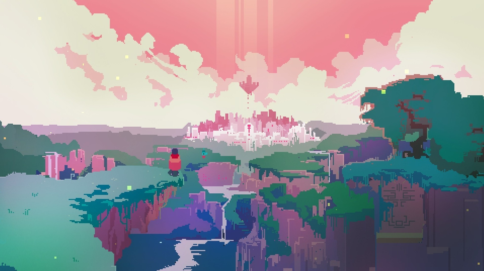 Hyper Light Drifter Backgrounds