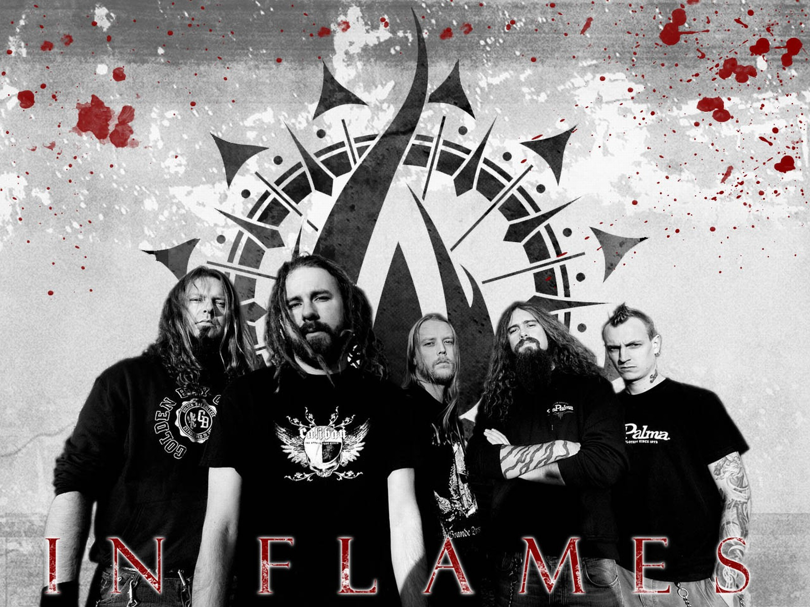 In Flames Backgrounds