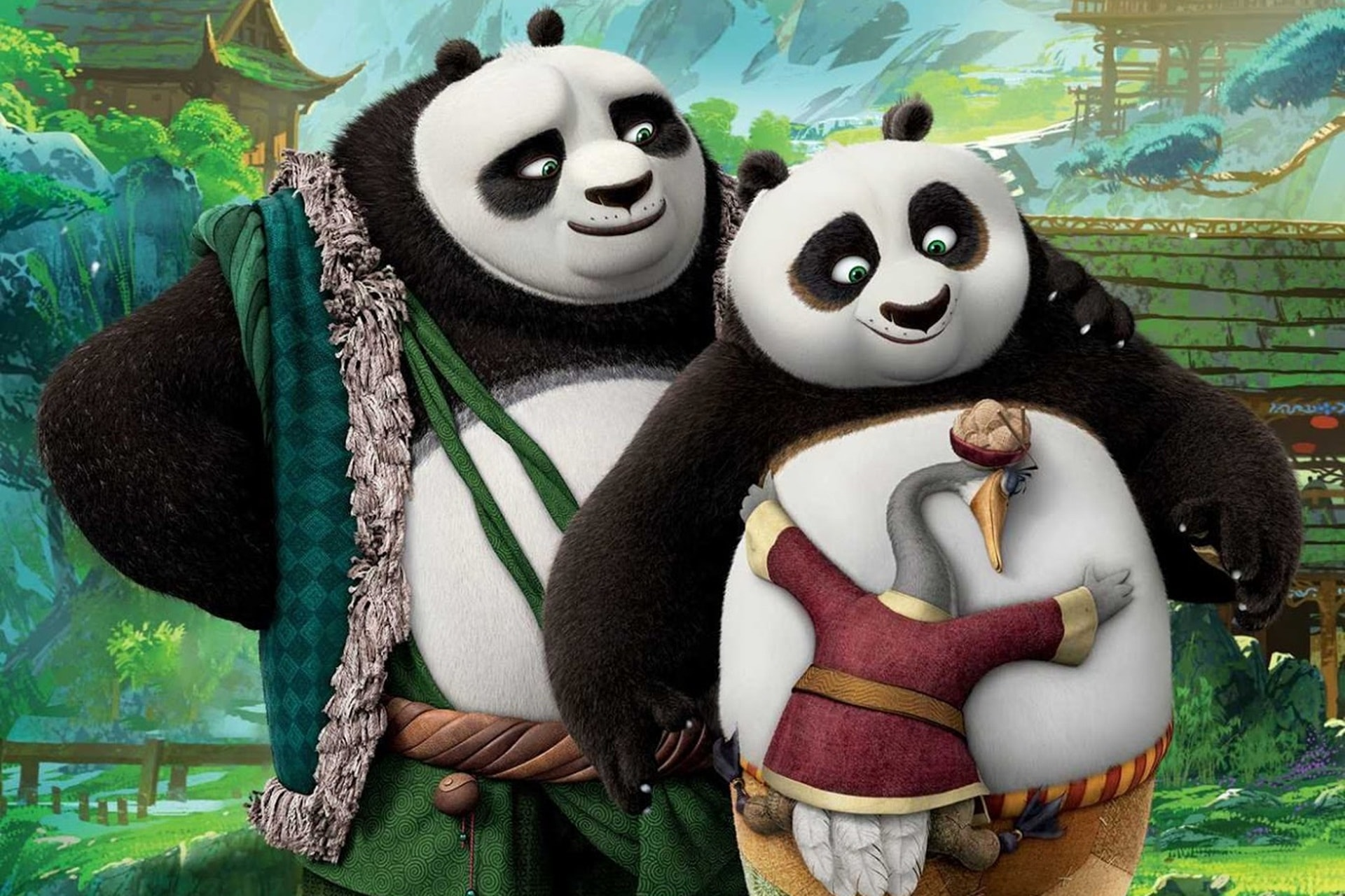 Kung Fu Panda 3 Backgrounds