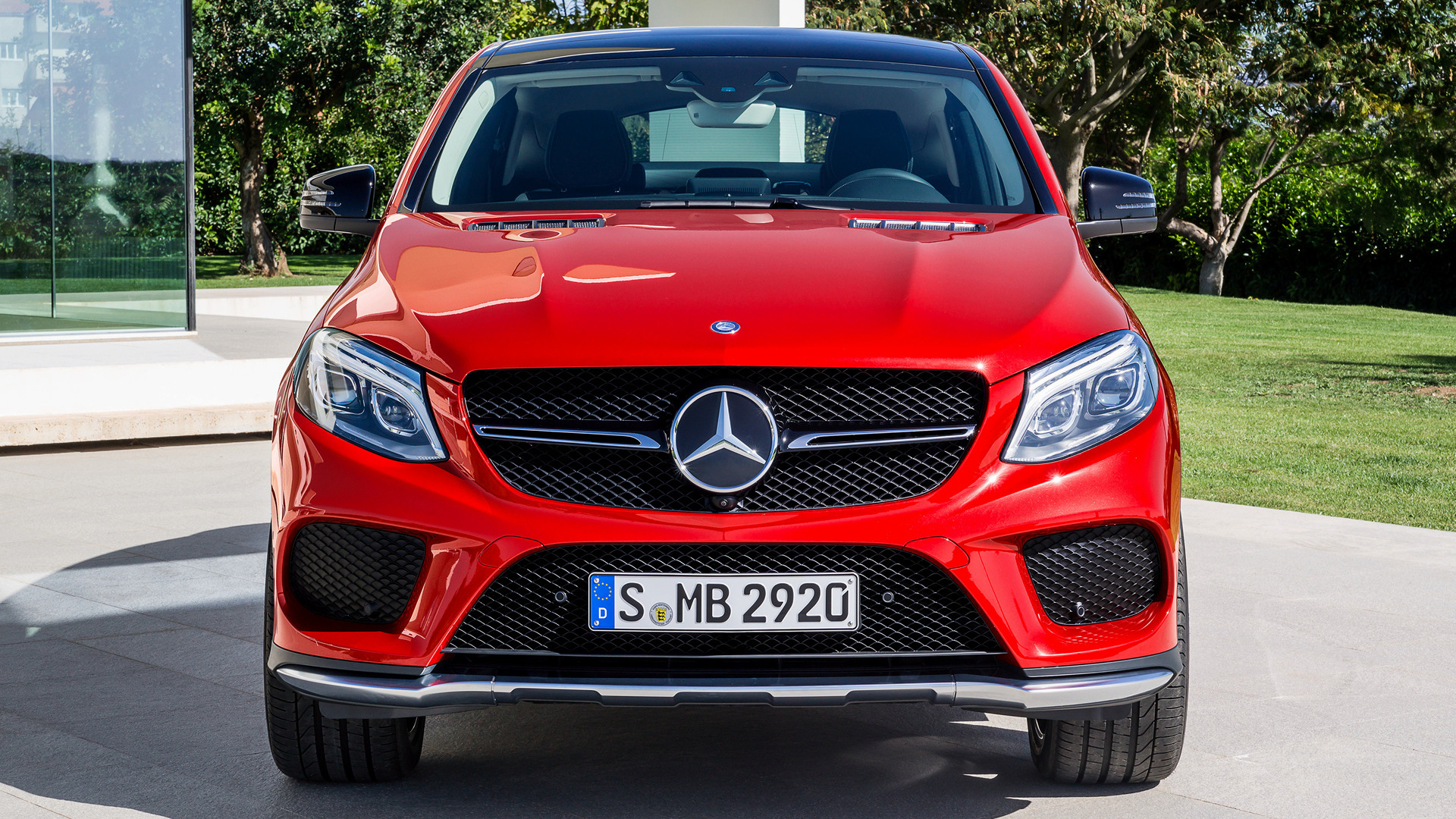 Mercedes-Benz GLE coupe widescreen wallpapers