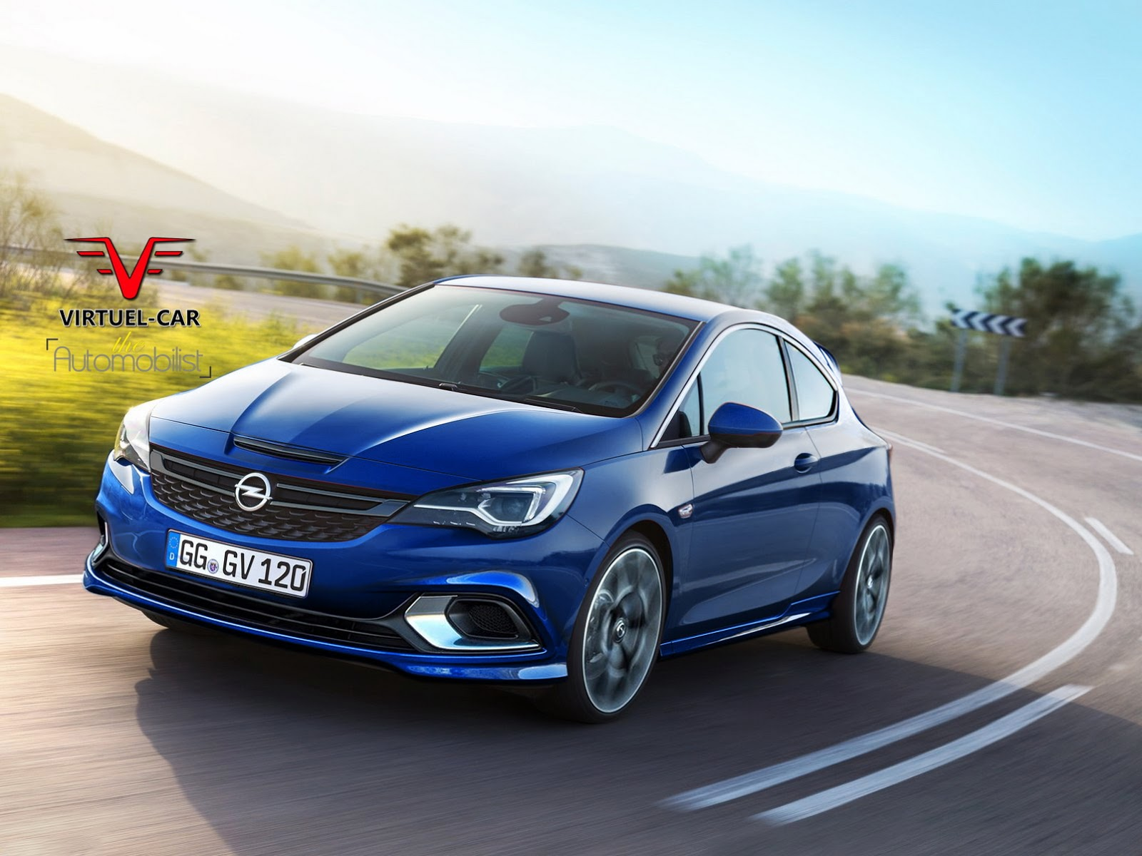 Opel Astra K Backgrounds