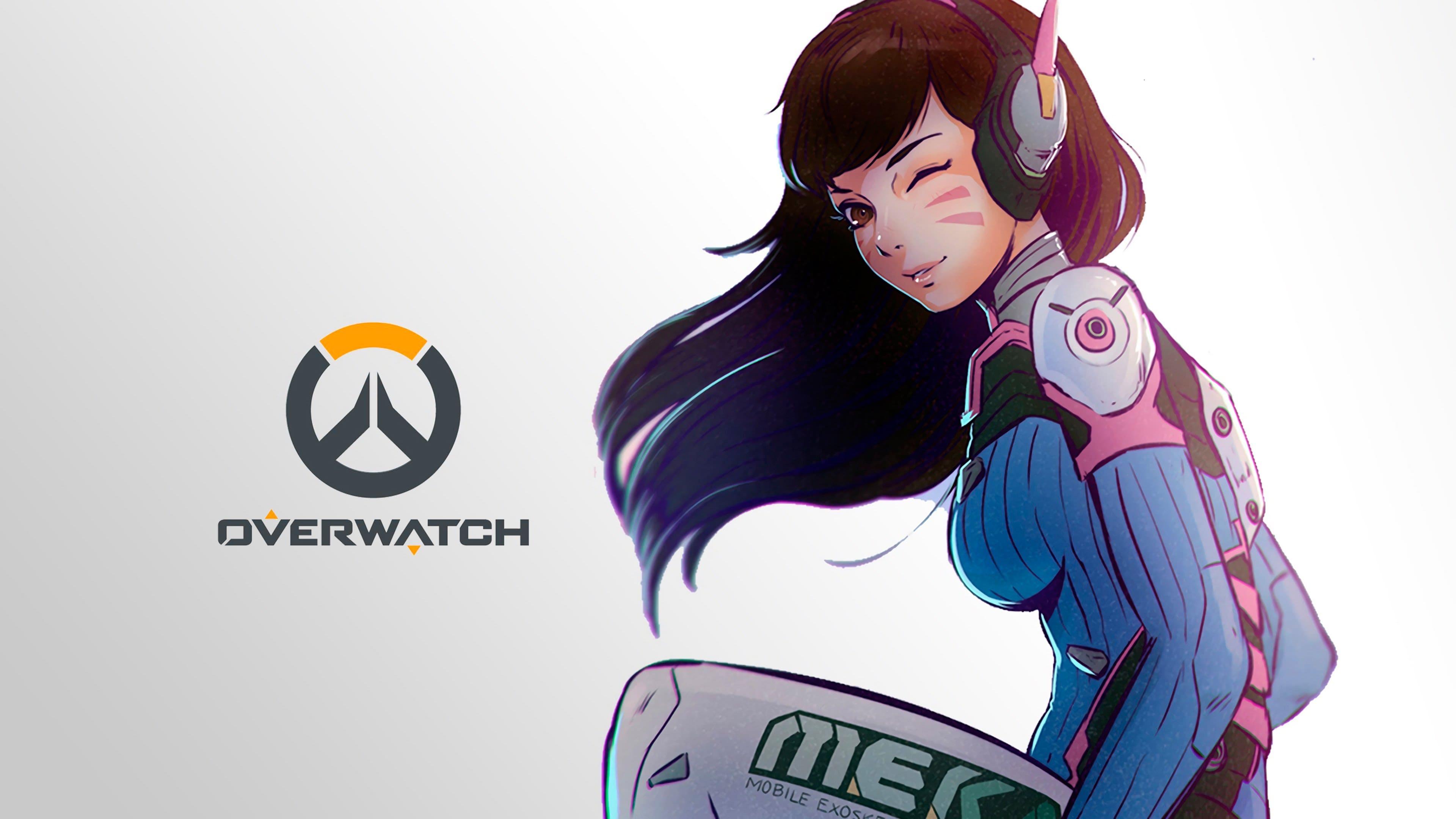 Overwatch : D.Va Backgrounds