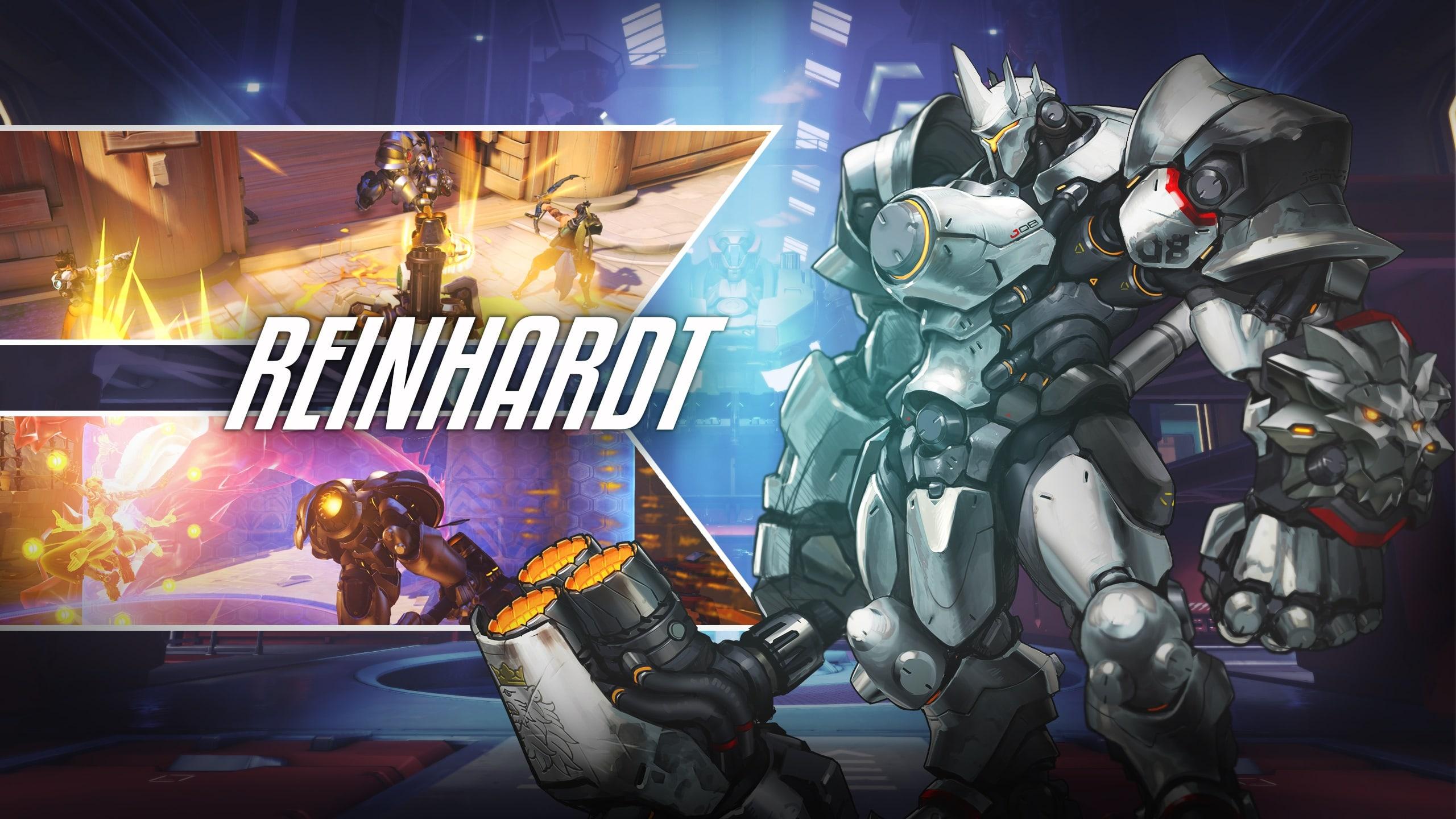 Overwatch : Reinhardt Backgrounds