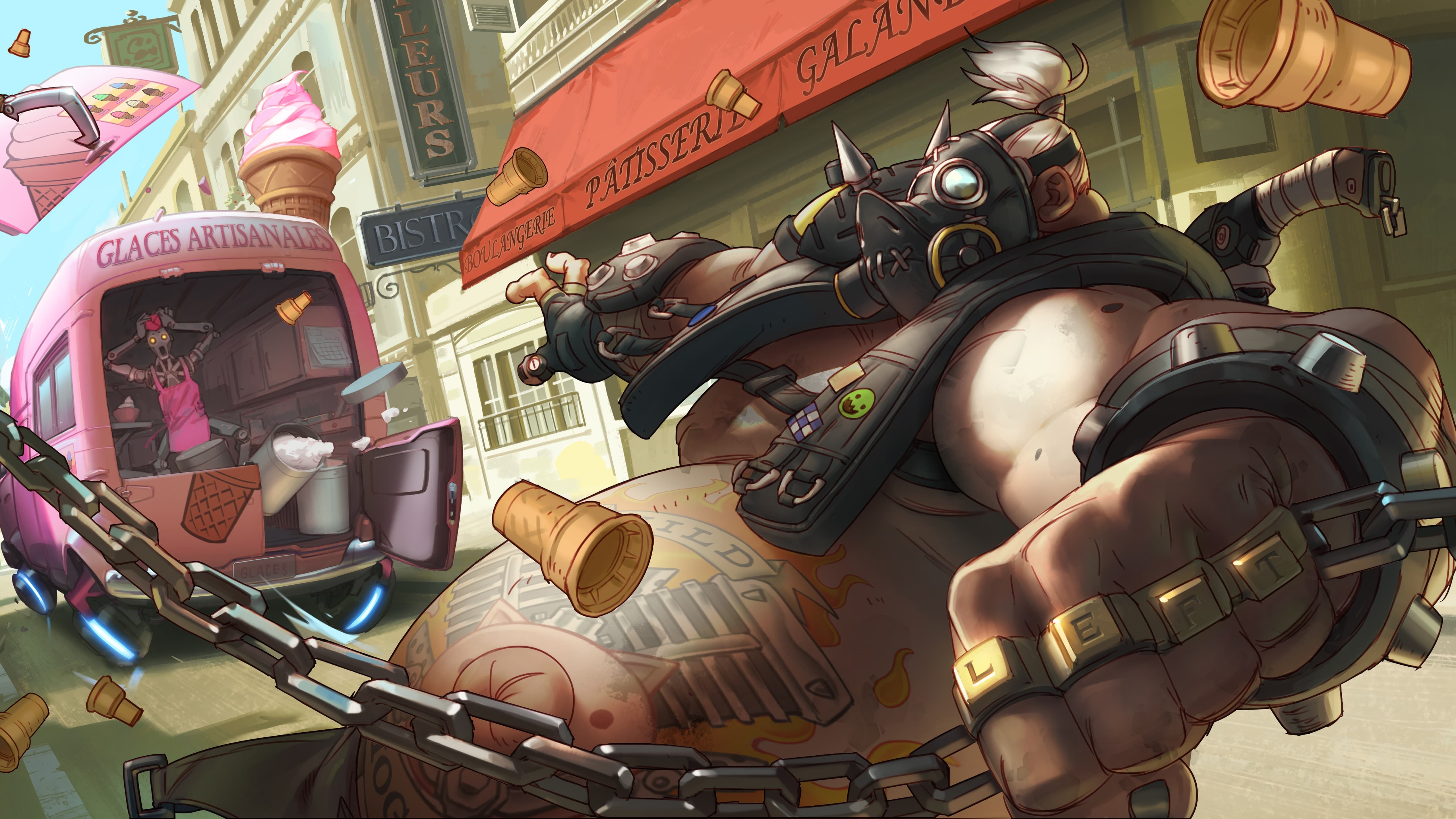 Overwatch : Roadhog Pictures