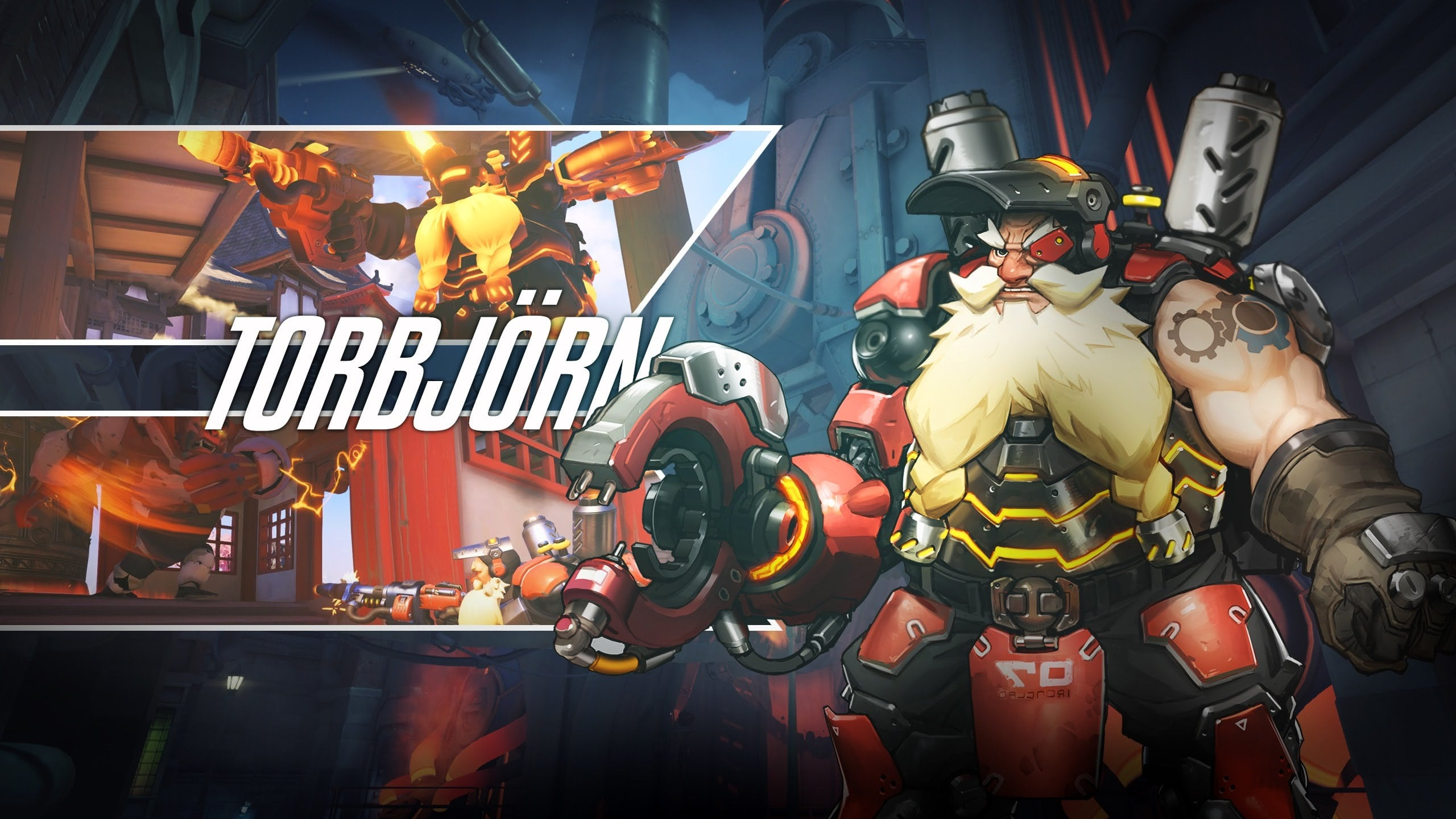 Overwatch : Torbjörn Backgrounds