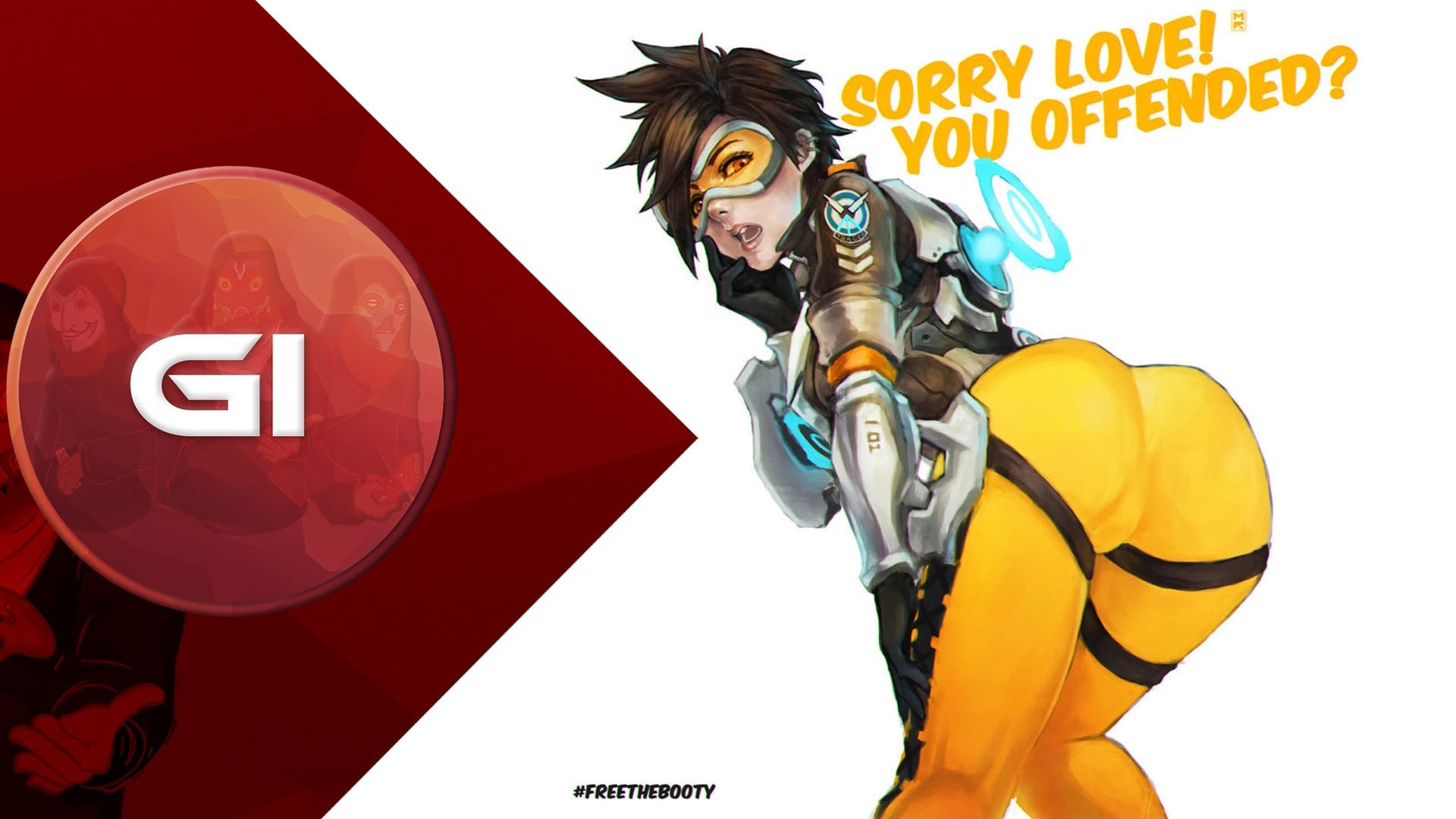 Overwatch : Tracer Widescreen for desktop