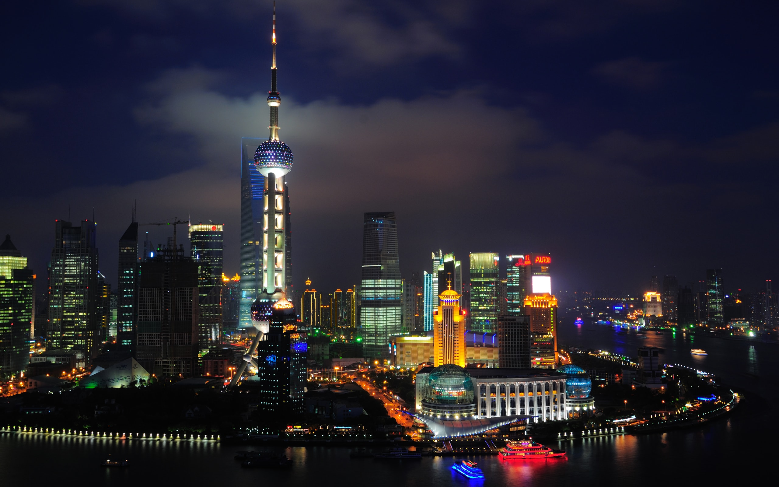 Shanghai widescreen for desktop