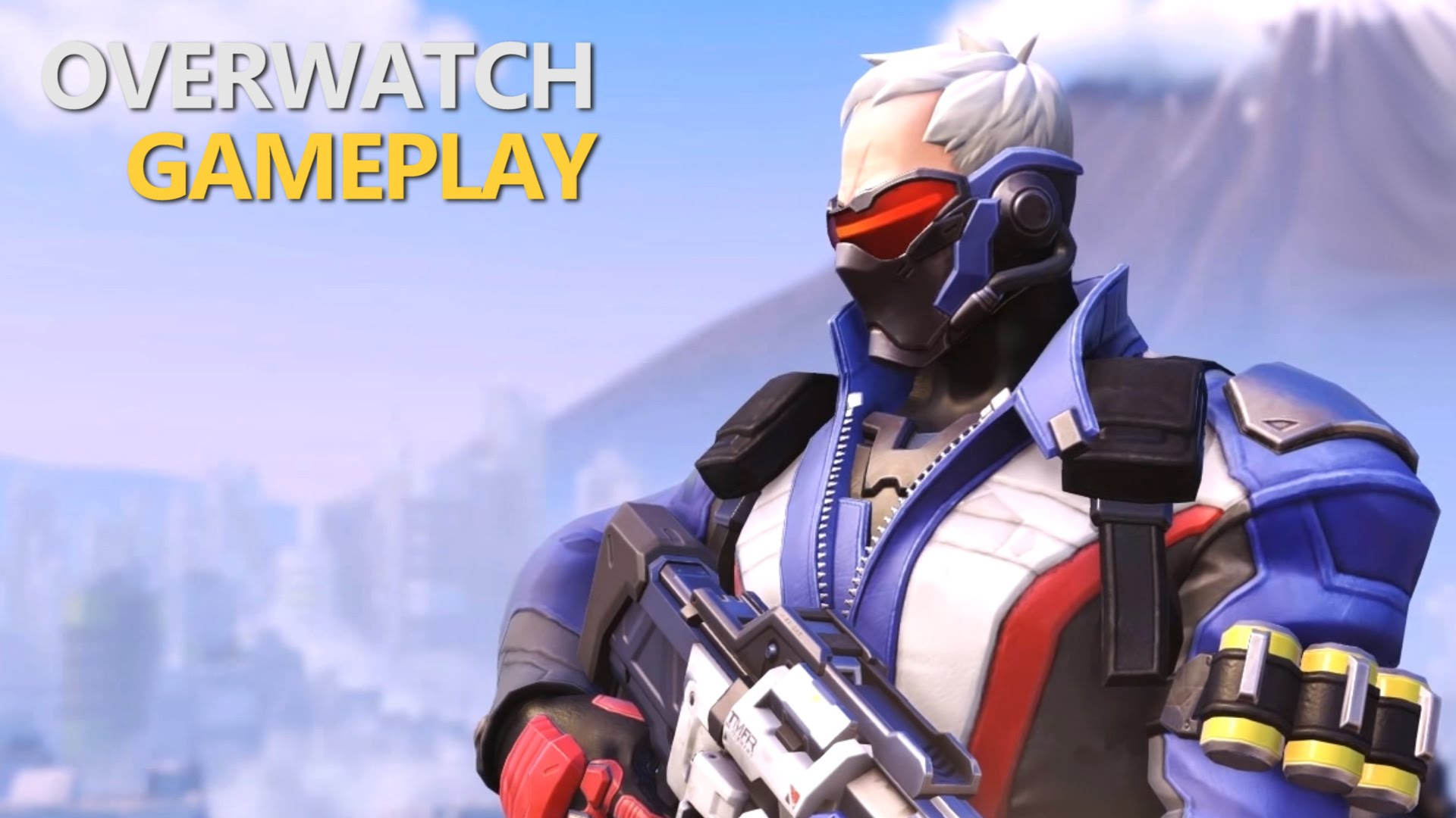 Overwatch : Soldier: 76 Pictures