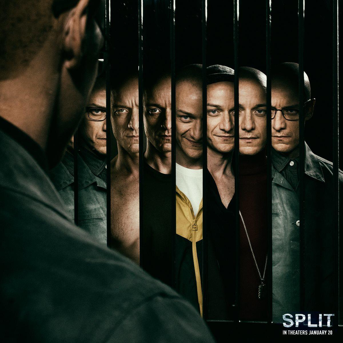 Split movie Backgrounds