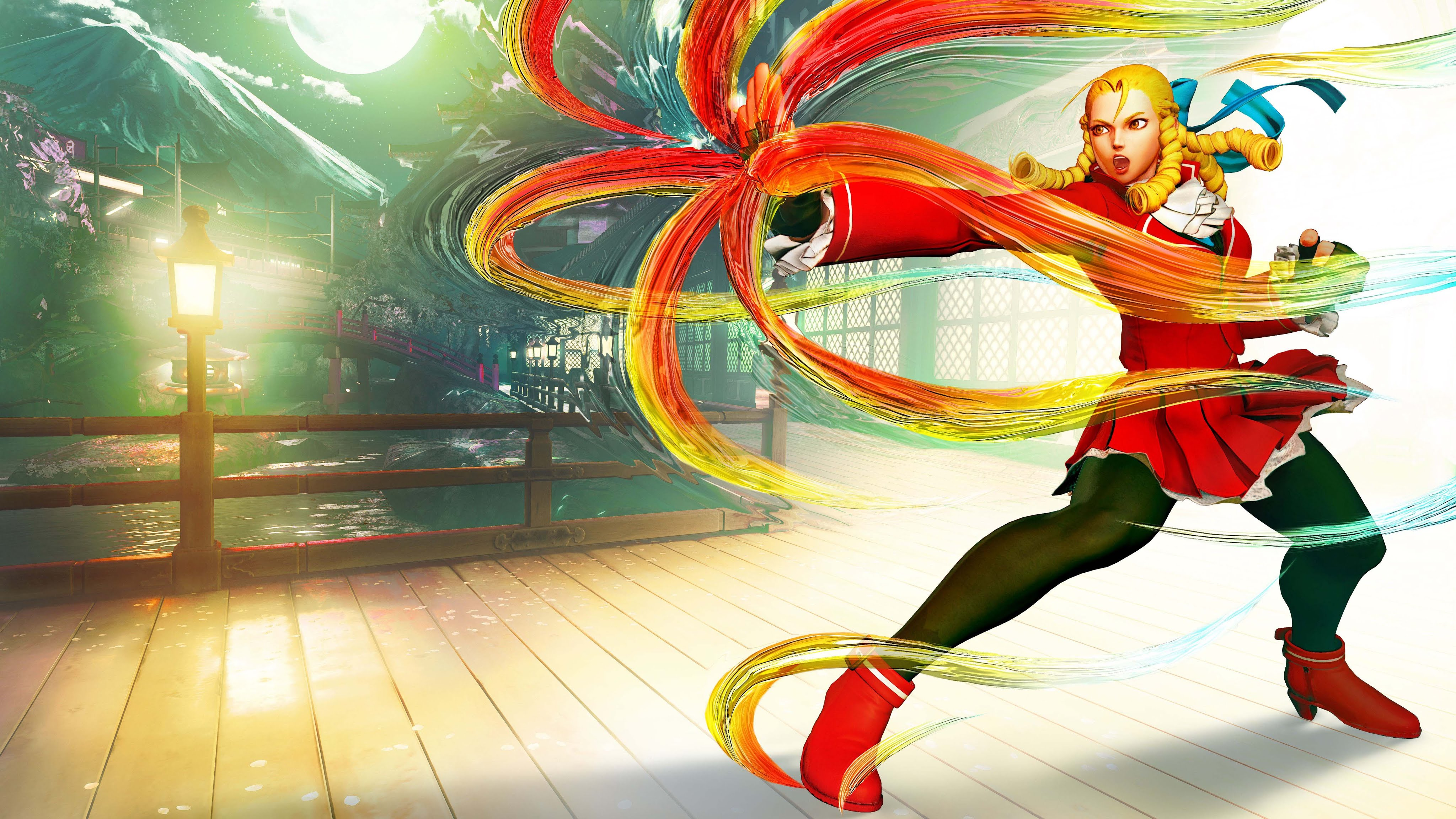 Street Fighter 5 Backgrounds