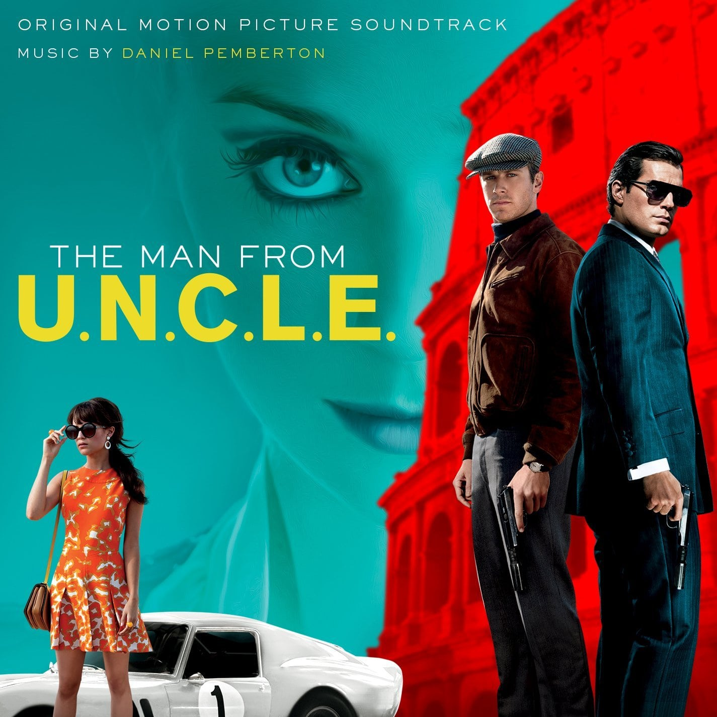The Man from U.N.C.L.E. Backgrounds