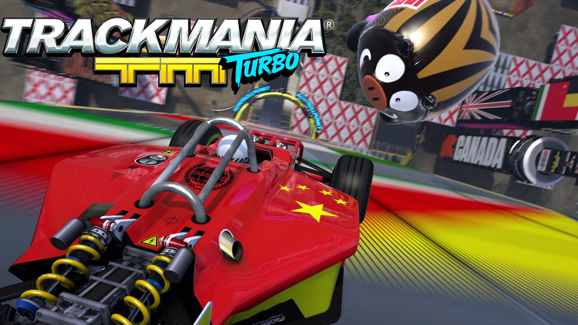 Trackmania Turbo Backgrounds