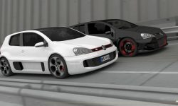Volkswagen Golf GTI W12-650 Concept Backgrounds