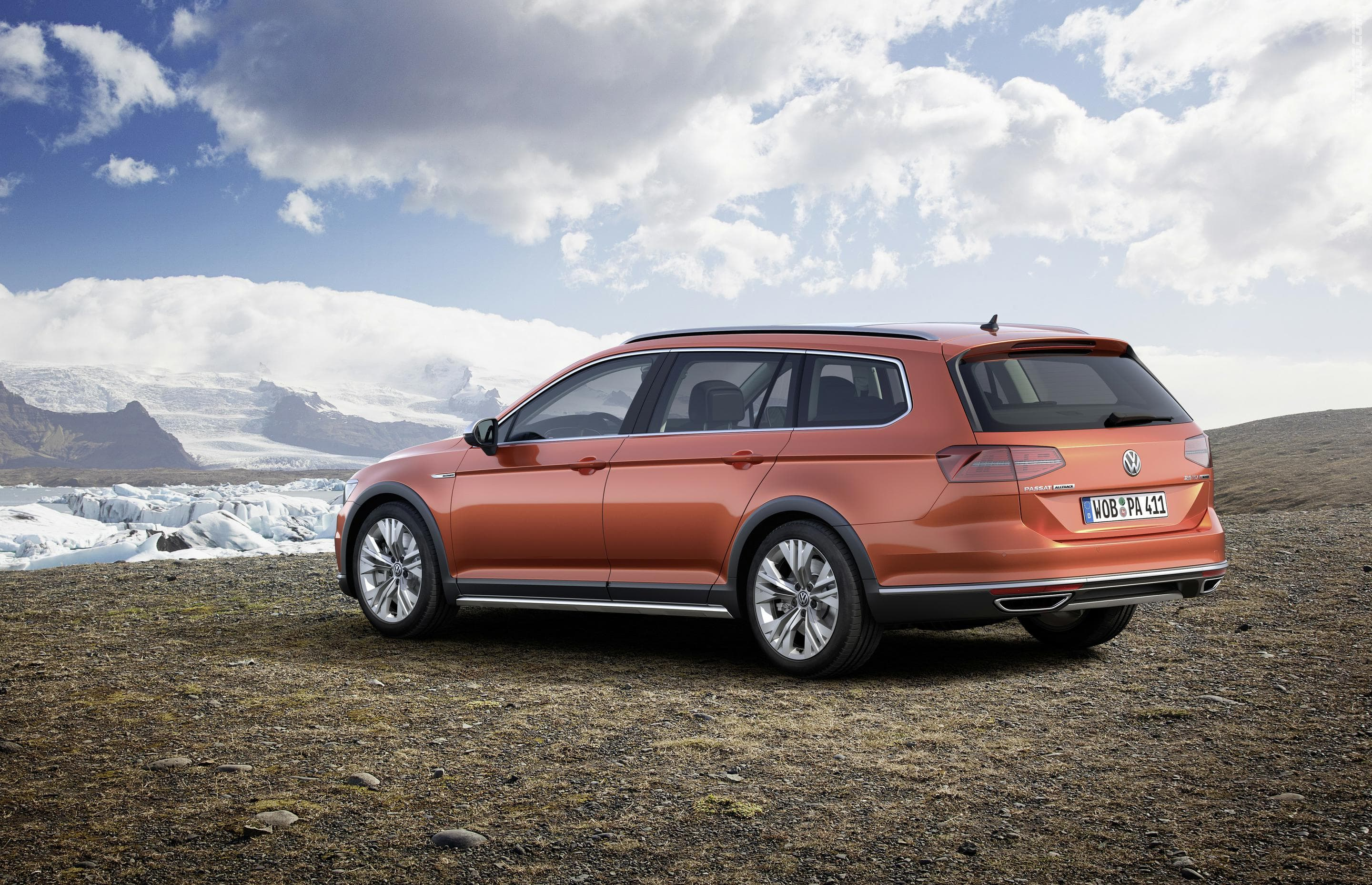 Volkswagen Passat B8 Alltrack Backgrounds