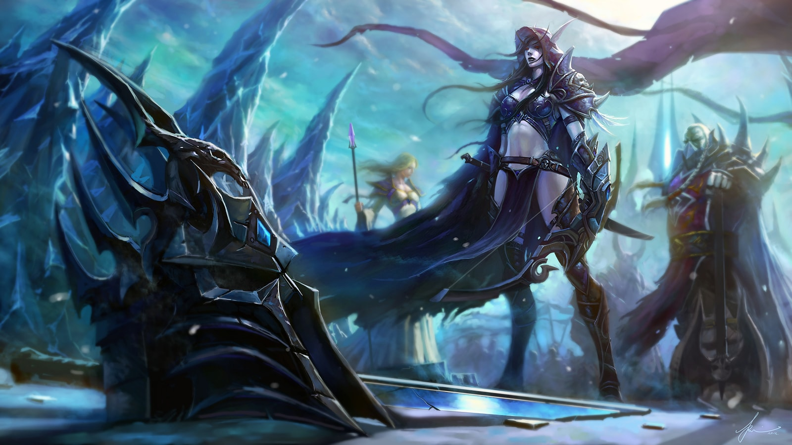 Wow Sylvanas Windrunner Hd Wallpapers 7wallpapers Net