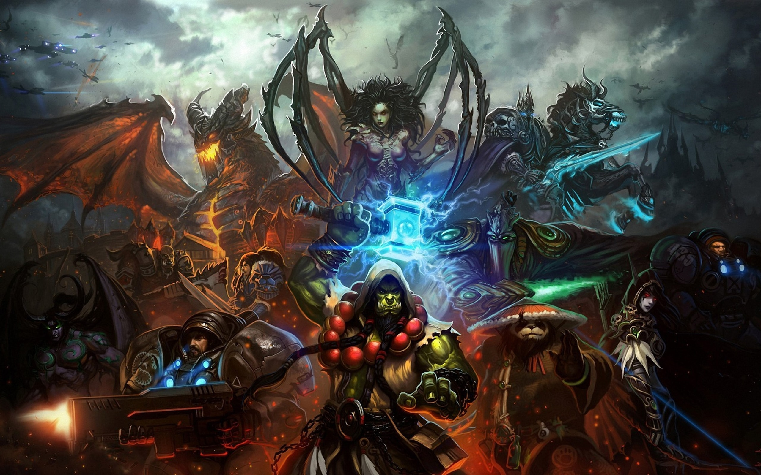WOW Thrall Wallpapers Hd Backgrounds